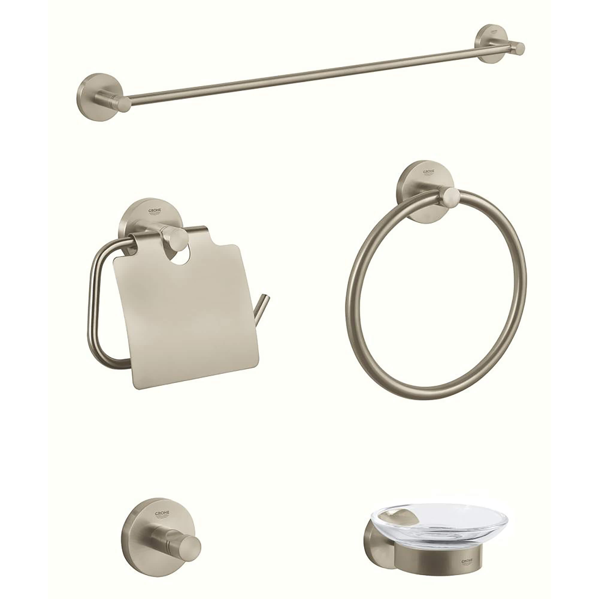 Accessory Set GROHE BRUSHED NICKEL