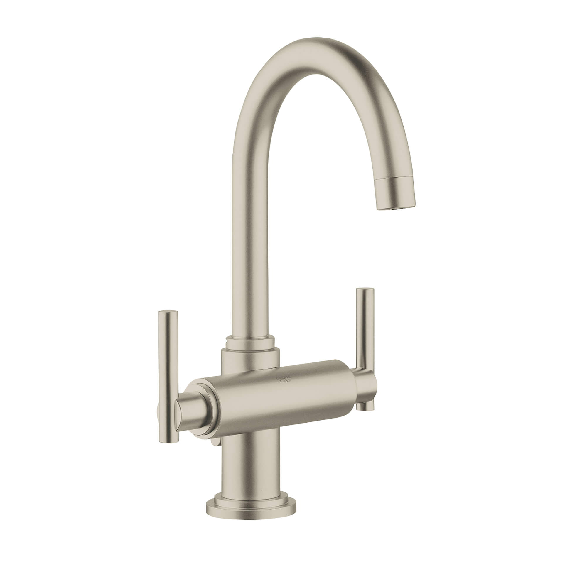 Manettes leviers la paire GROHE BRUSHED NICKEL