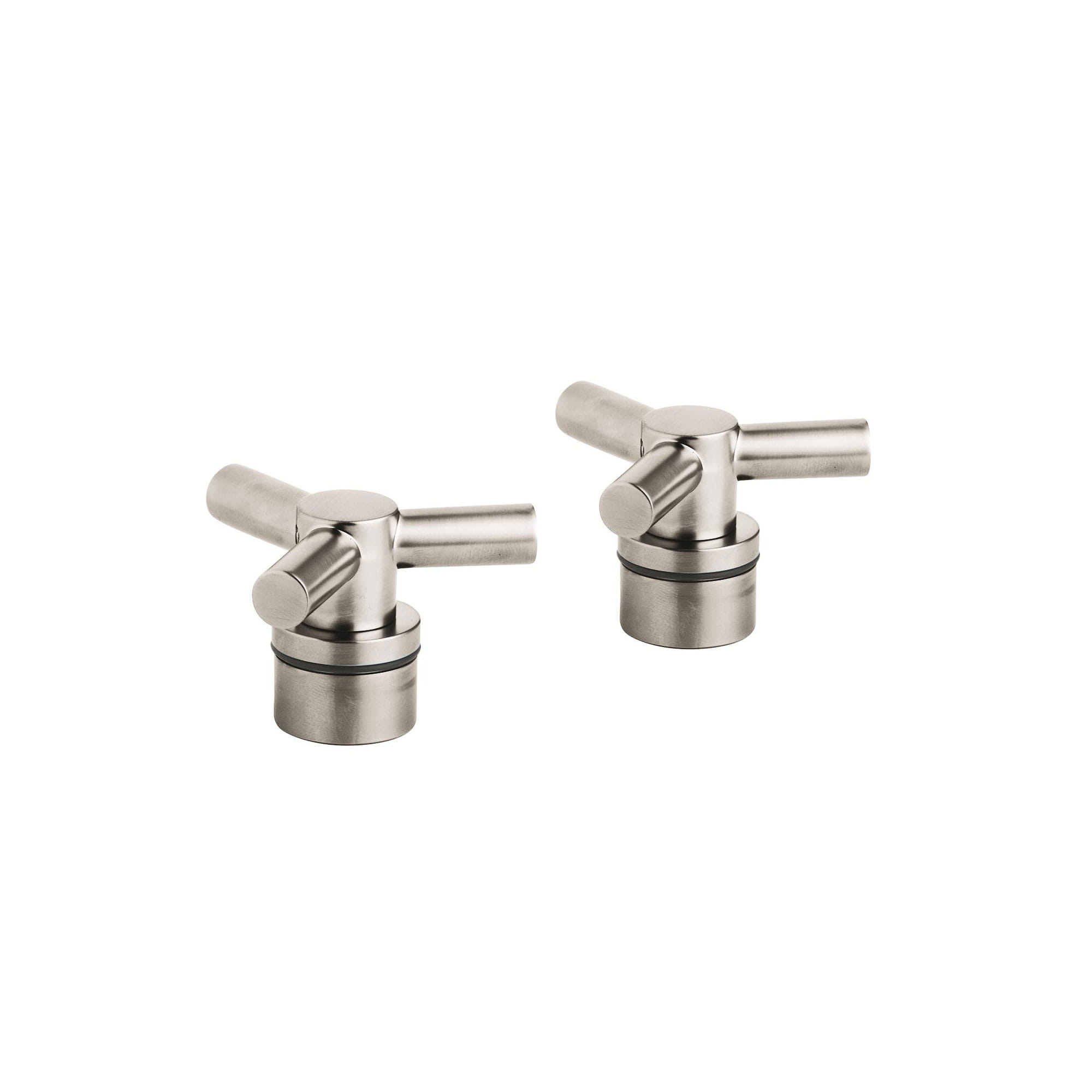 Tri Spoke Handles Pair GROHE BRUSHED NICKEL