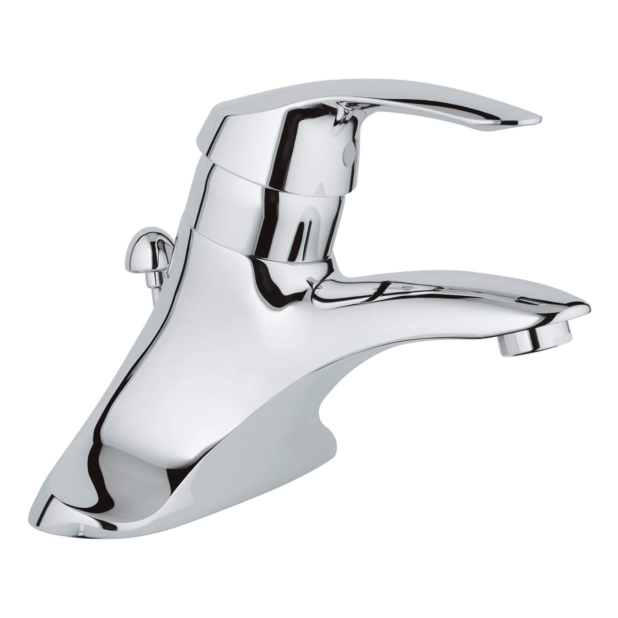 Metal Handle 4 Inch Centerset GROHE CHROME