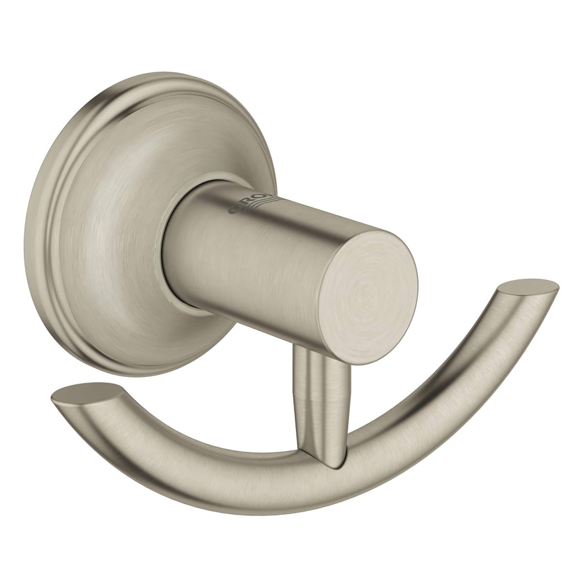 Porte manteau  patère GROHE BRUSHED NICKEL