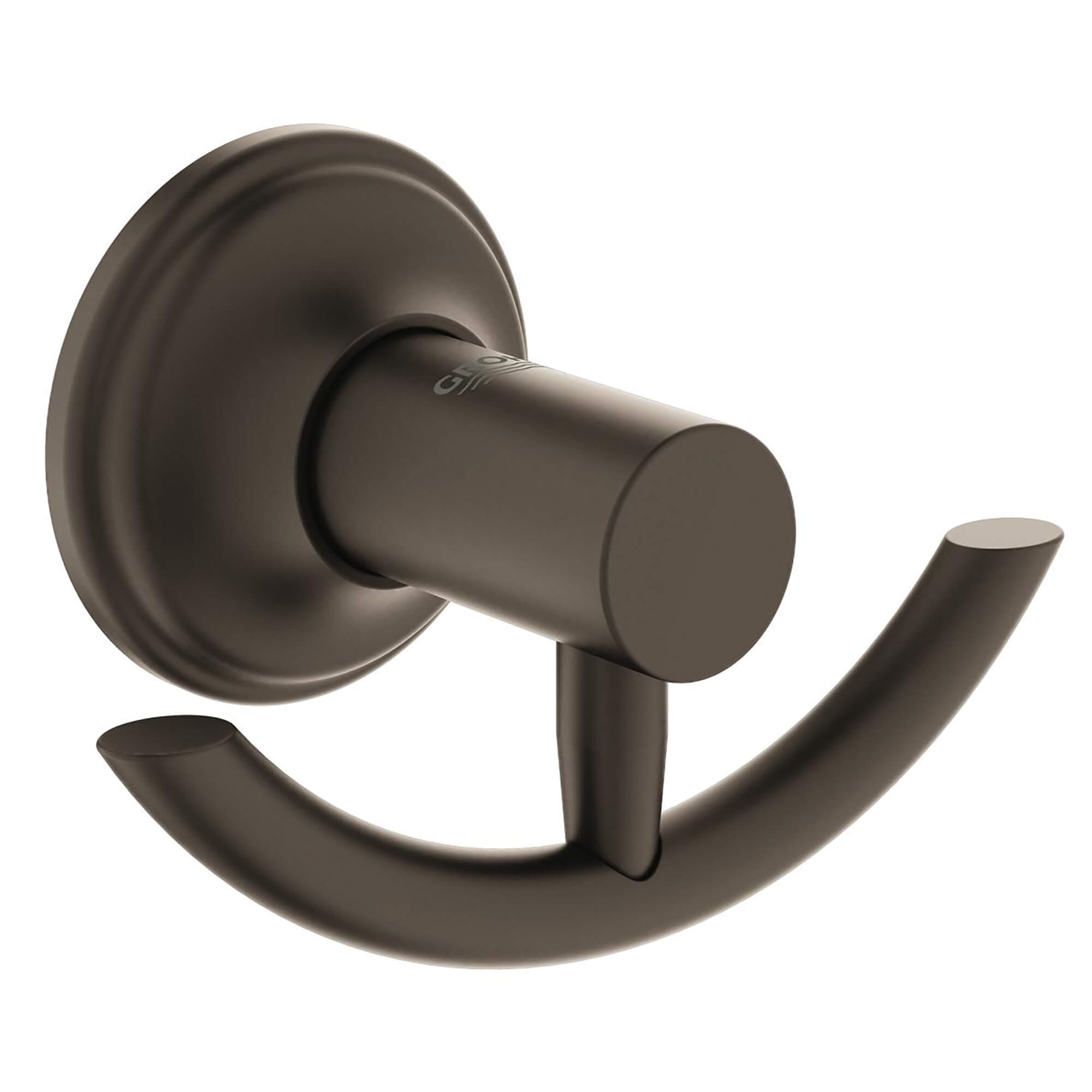 Porte manteau  patère GROHE OIL RUBBED BRONZE