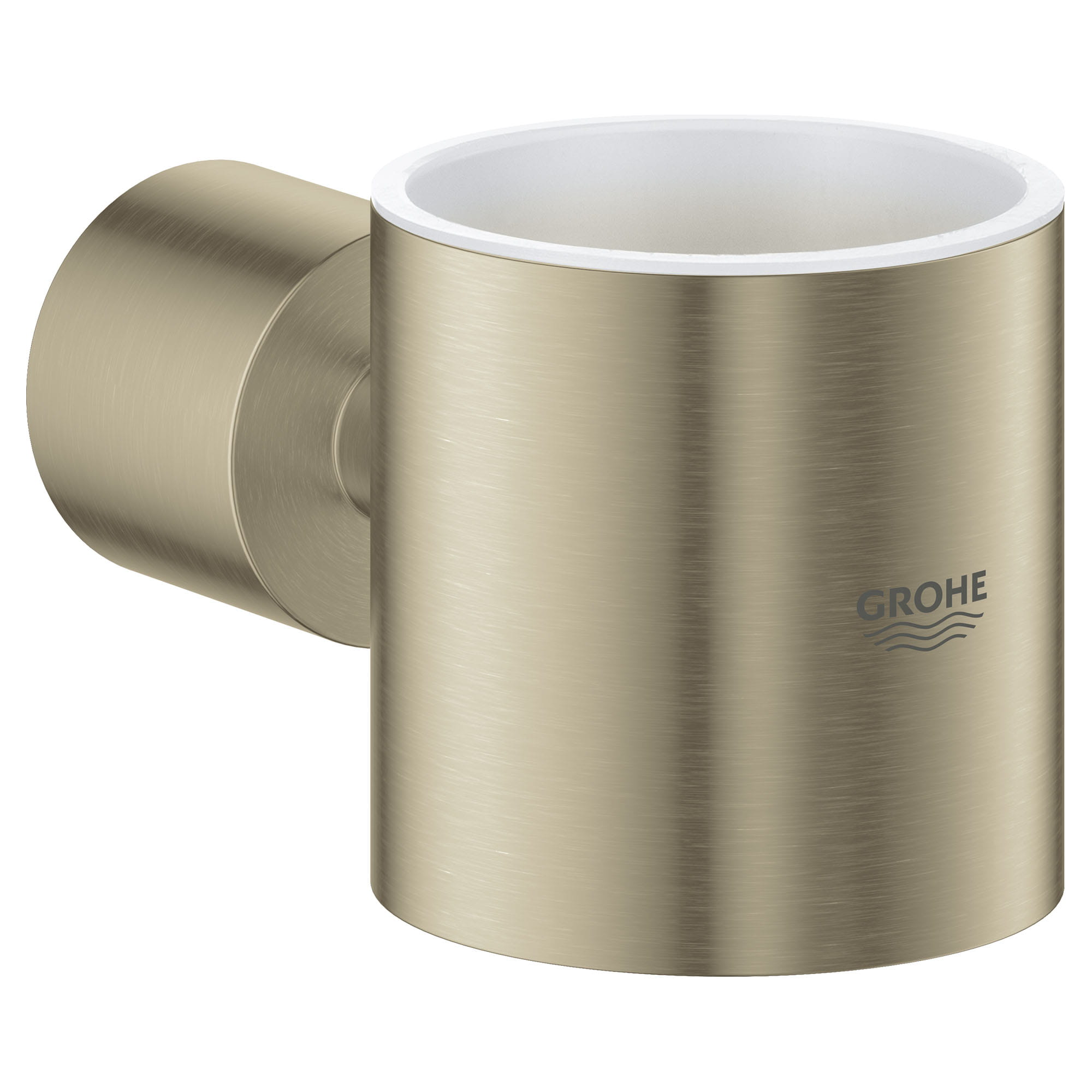 Support pour gobelet GROHE BRUSHED NICKEL