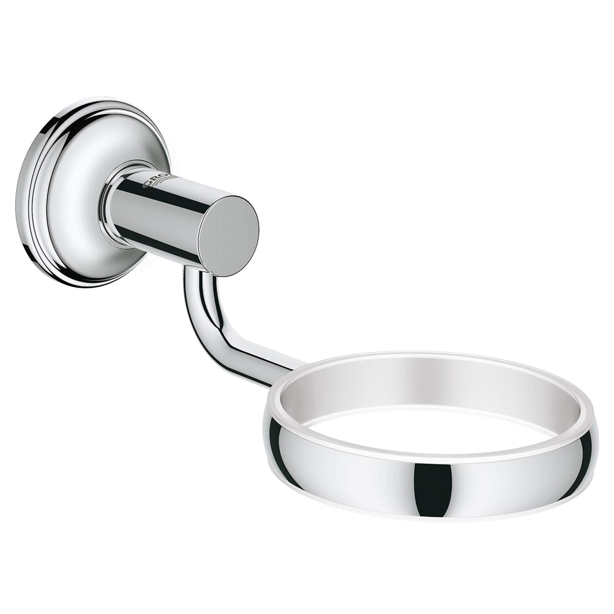Glass   dish holder GROHE CHROME