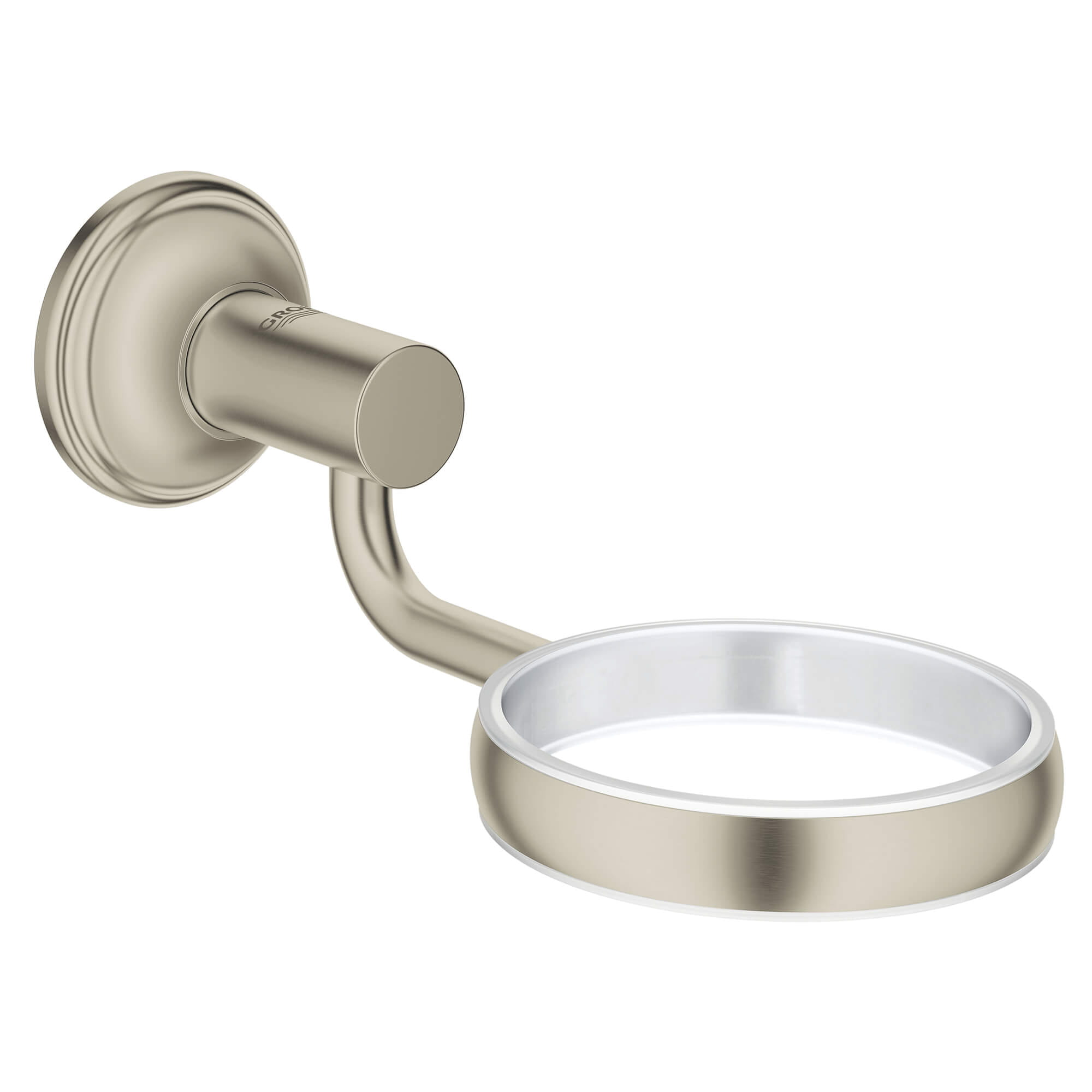 Essentials Authentic Support mural GROHE BRUSHED NICKEL