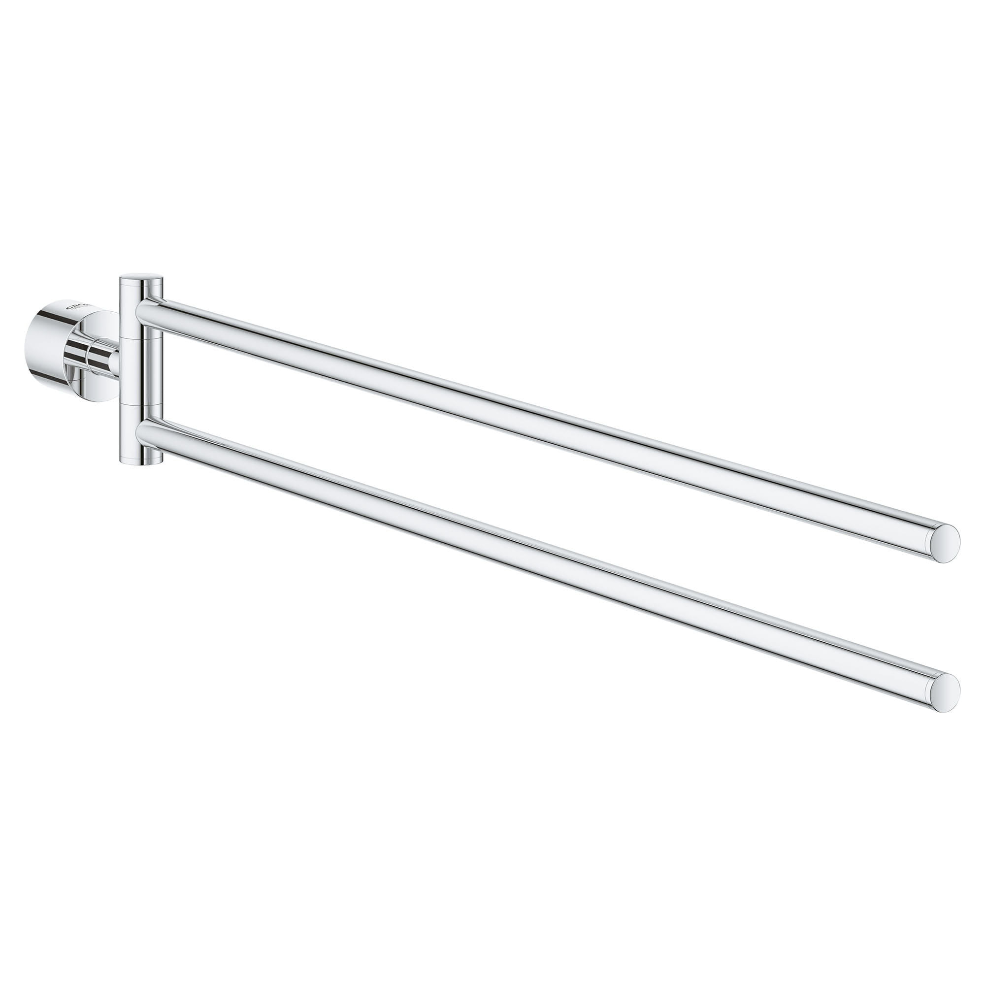 Porte serviettes à deux branches de 18 po GROHE BRUSHED NICKEL