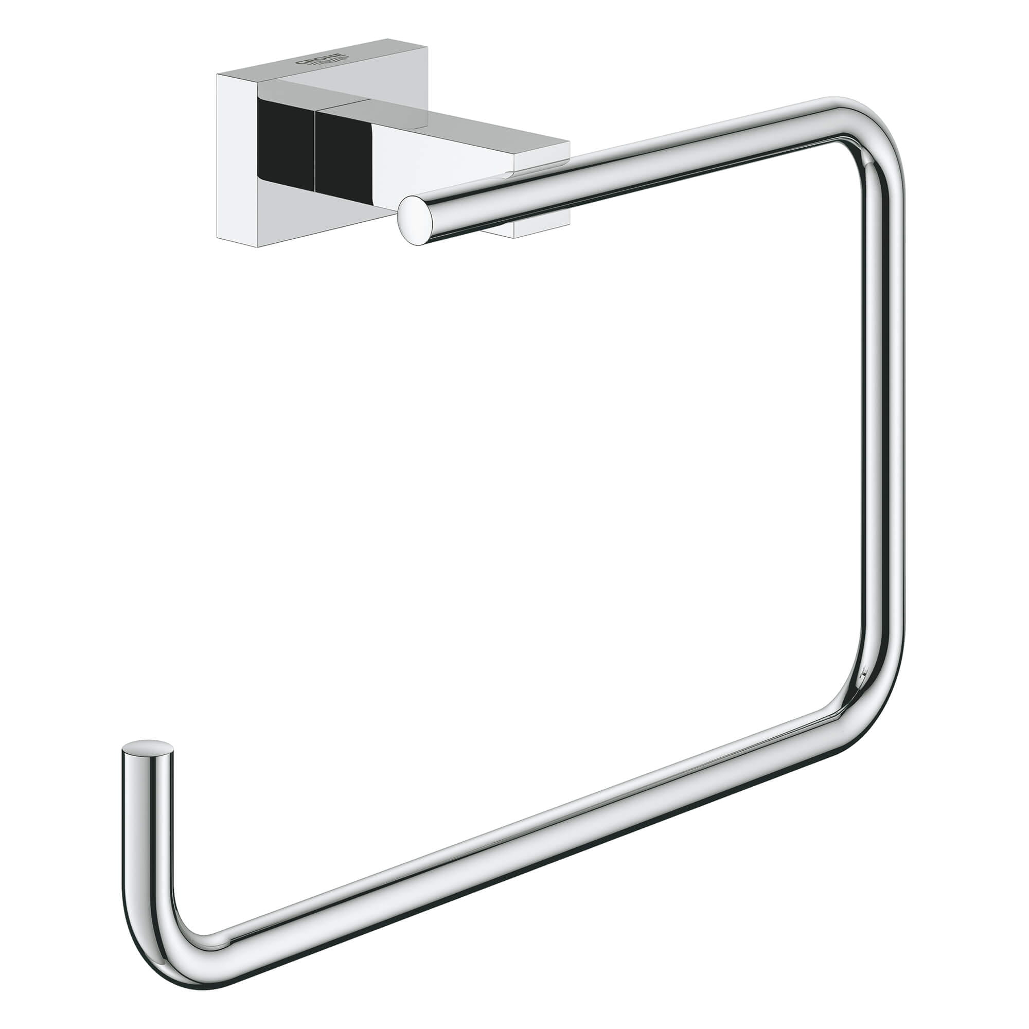 Essentials Cube Anneau porte serviette GROHE CHROME