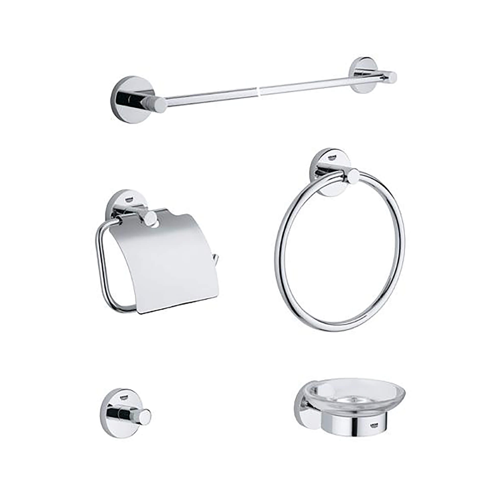 Accessory Set GROHE CHROME