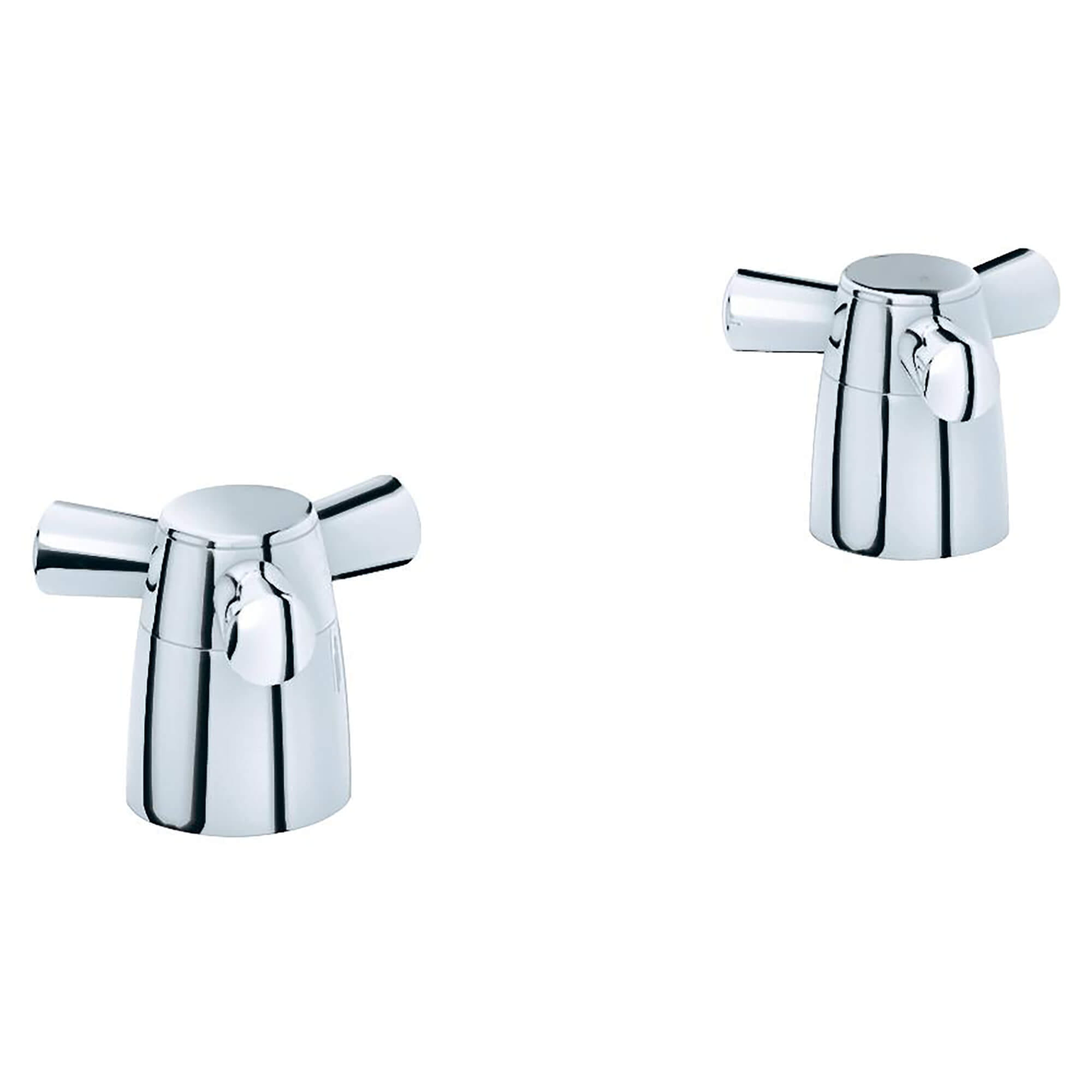 Tri Spoke Handles Pair GROHE CHROME