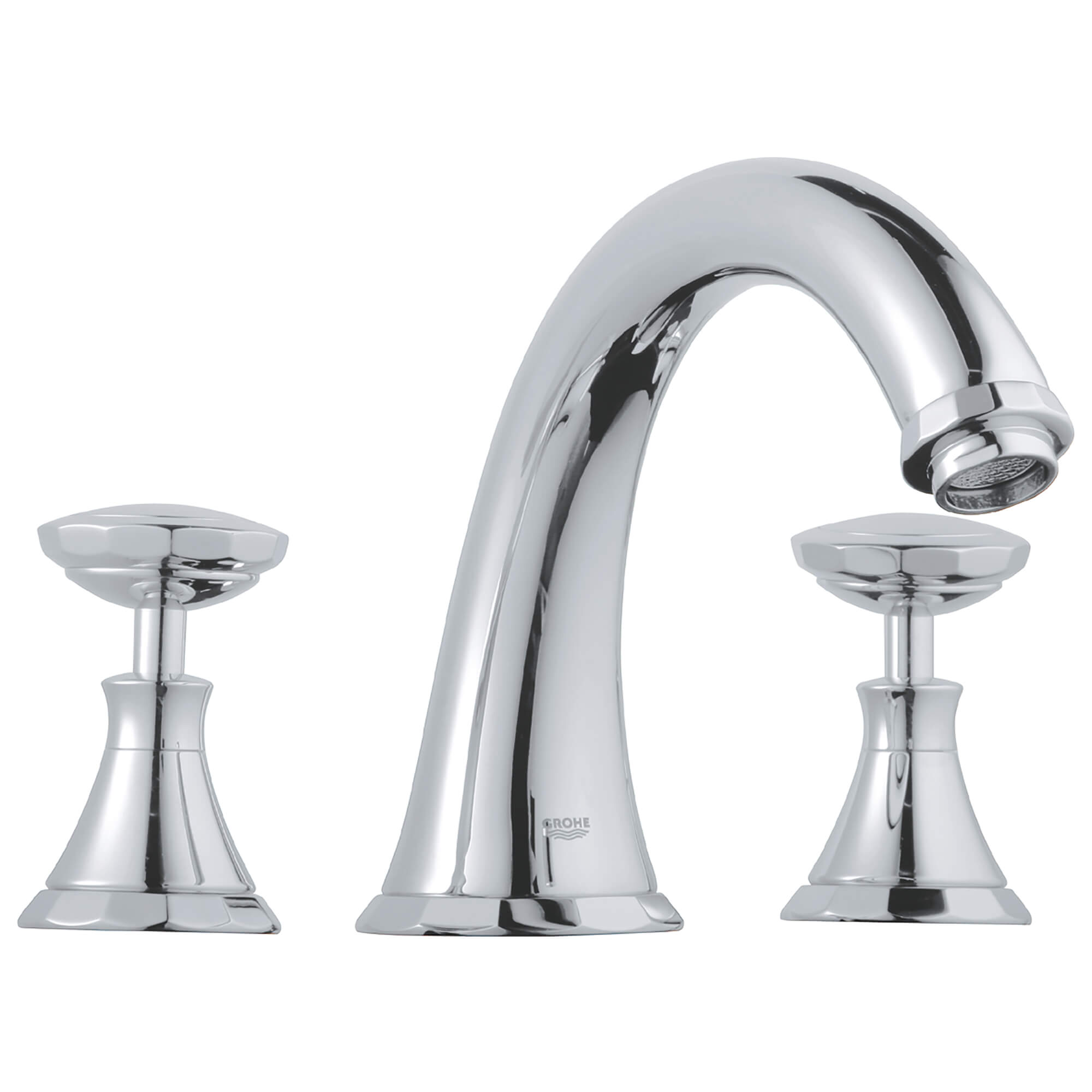 Swarovski Crystal Handles Pair GROHE CHROME