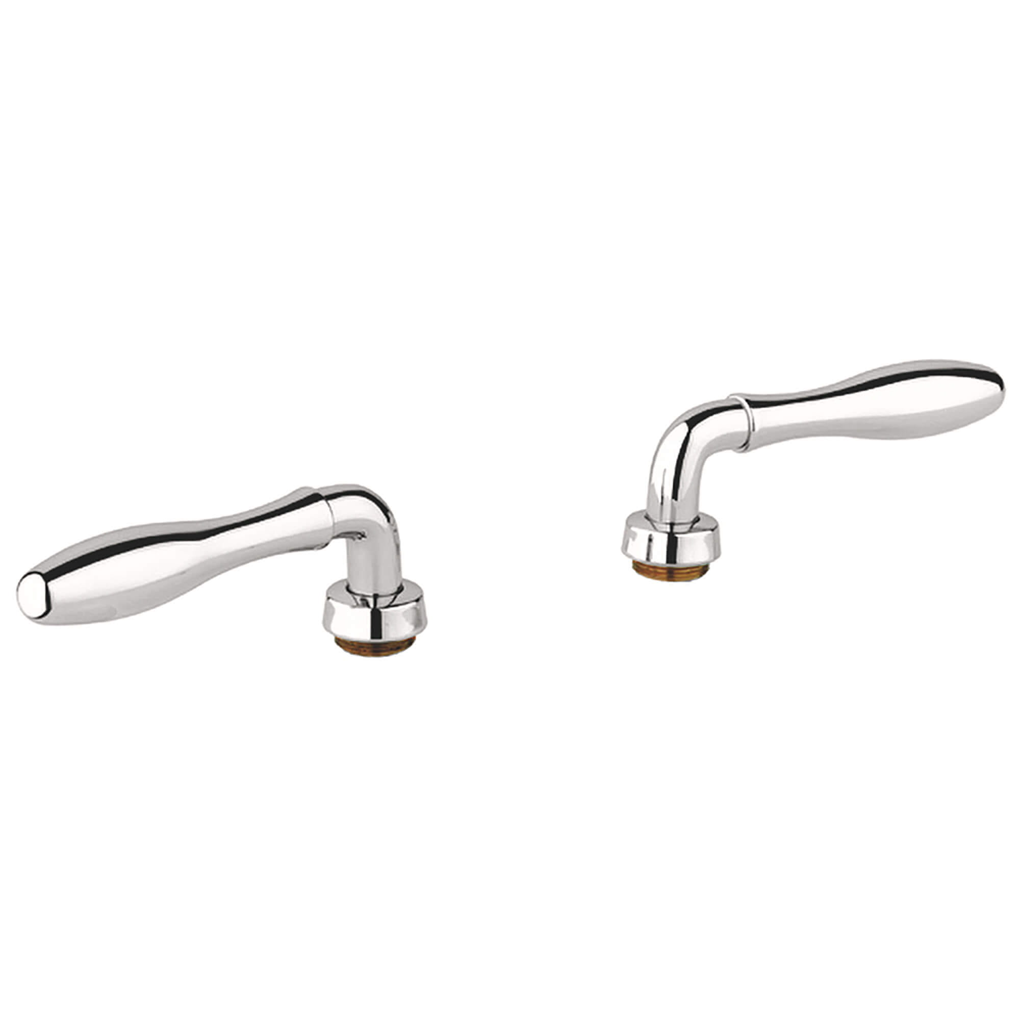Lever Handles Pair GROHE POLISHED NICKEL