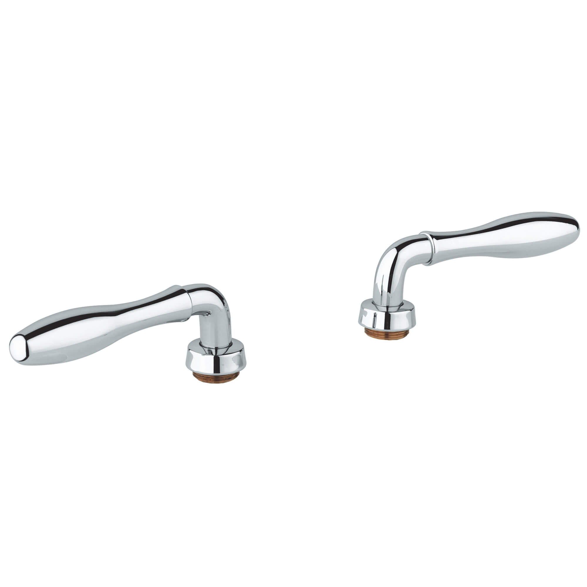 Lever Handles Pair GROHE CHROME