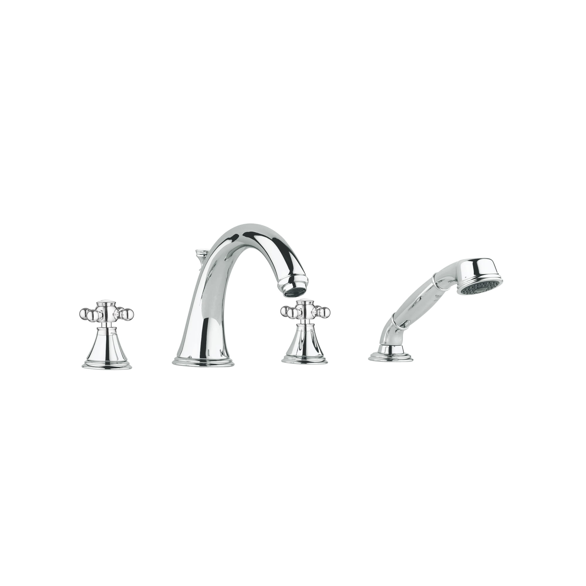 Cross Handles Pair GROHE CHROME