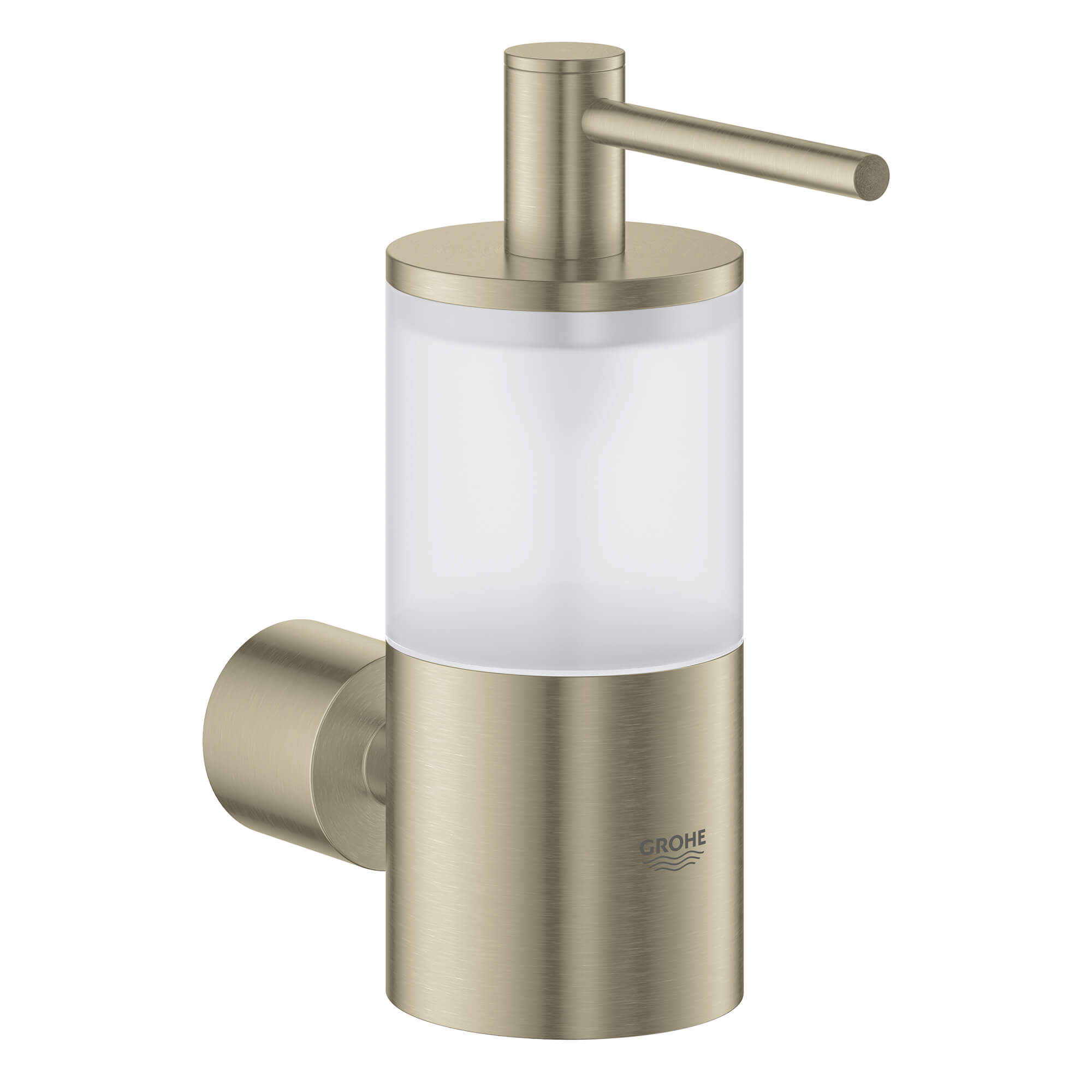 Holder For Glass Soap Dish Or Soap Dispenser GROHE BRUSHED NICKEL