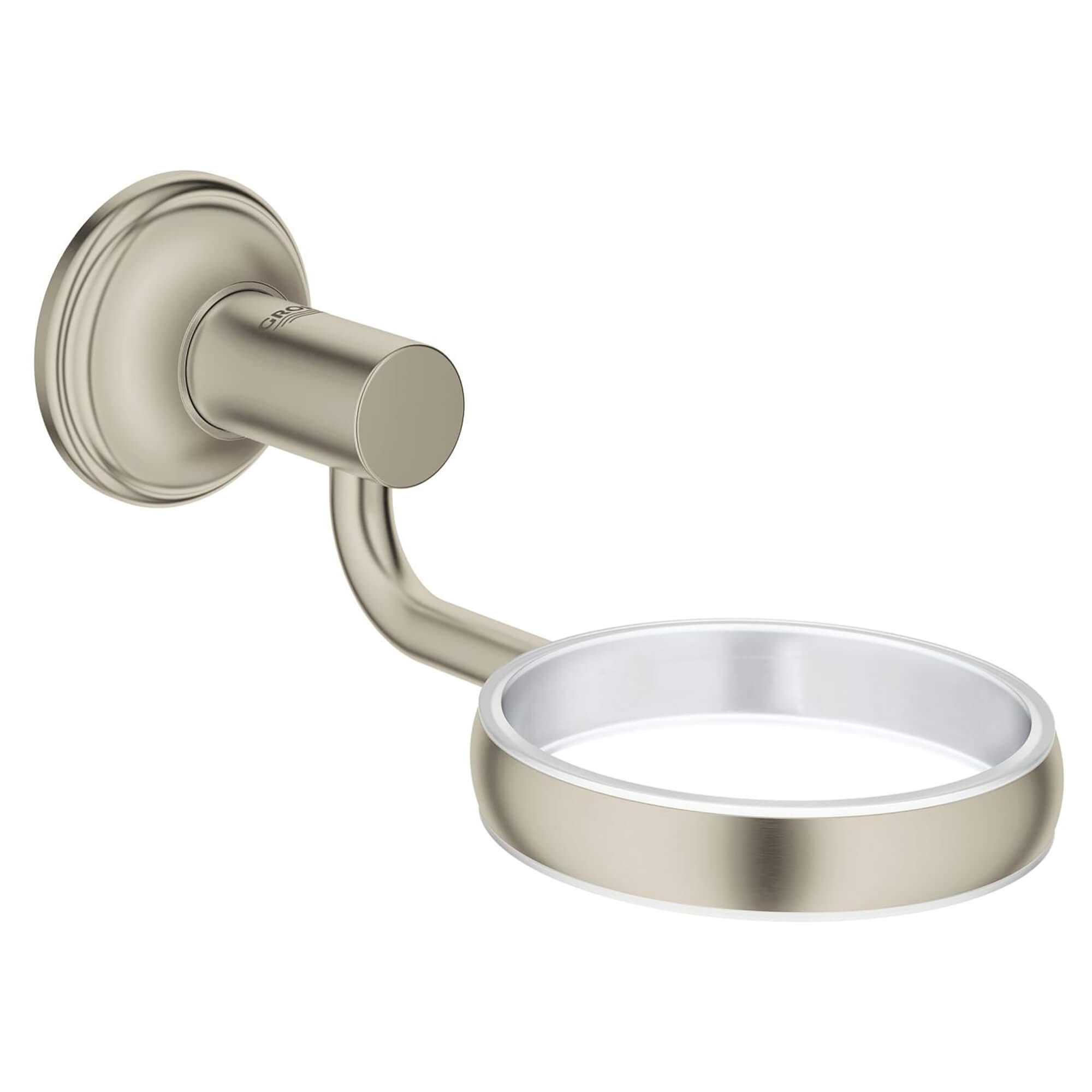 Essentials Authentic Soap Holder GROHE BRUSHED NICKEL