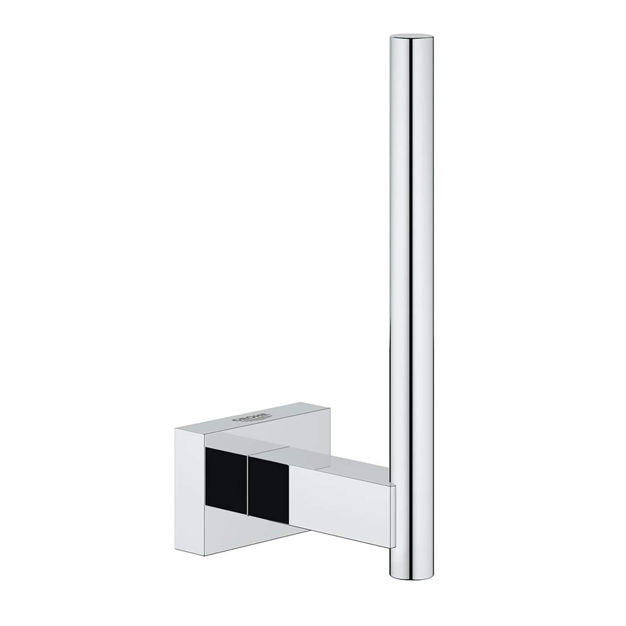 Essentials Cube Reserve Paper Holder GROHE CHROME