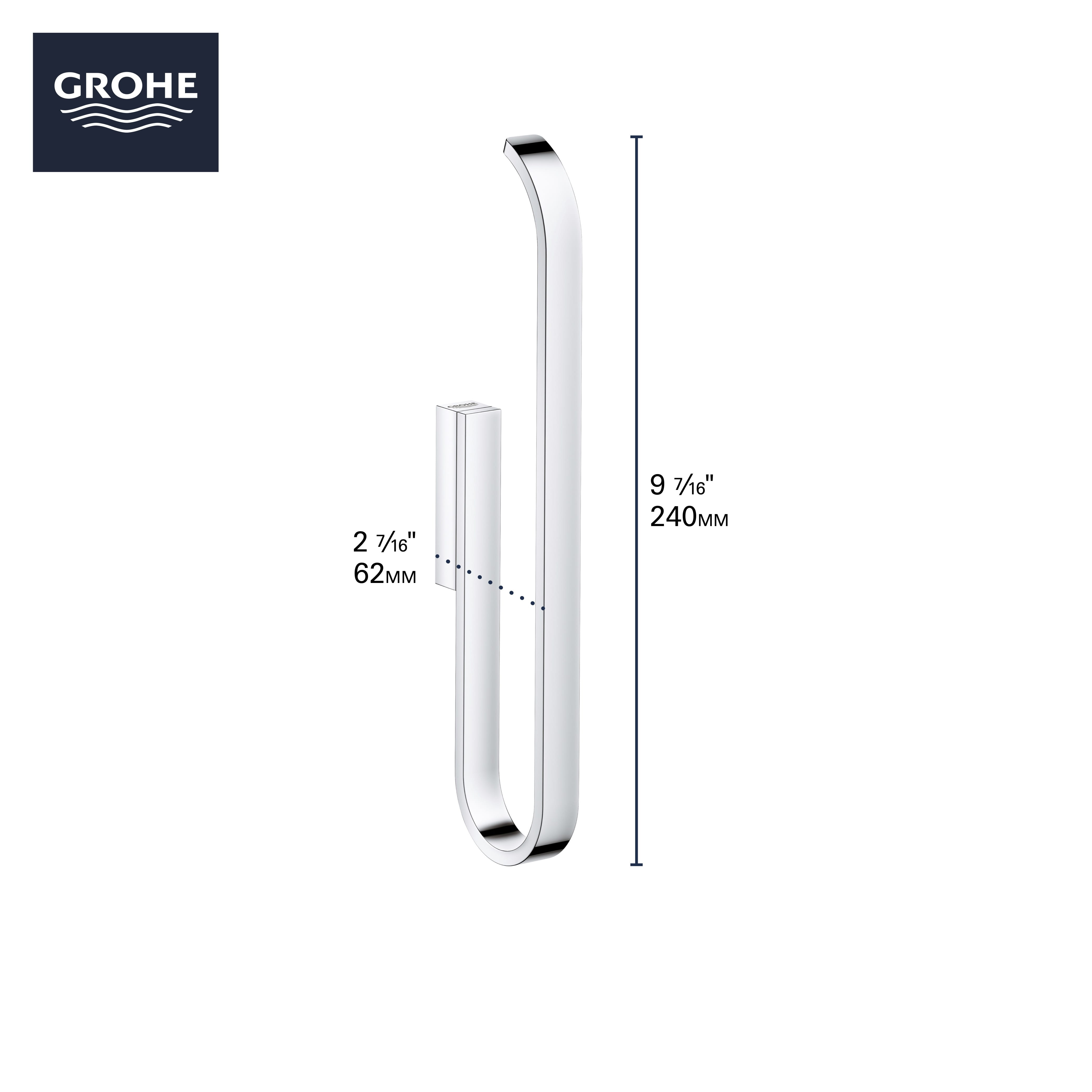 Paper Holder GROHE BRUSHED COOL SUNRISE