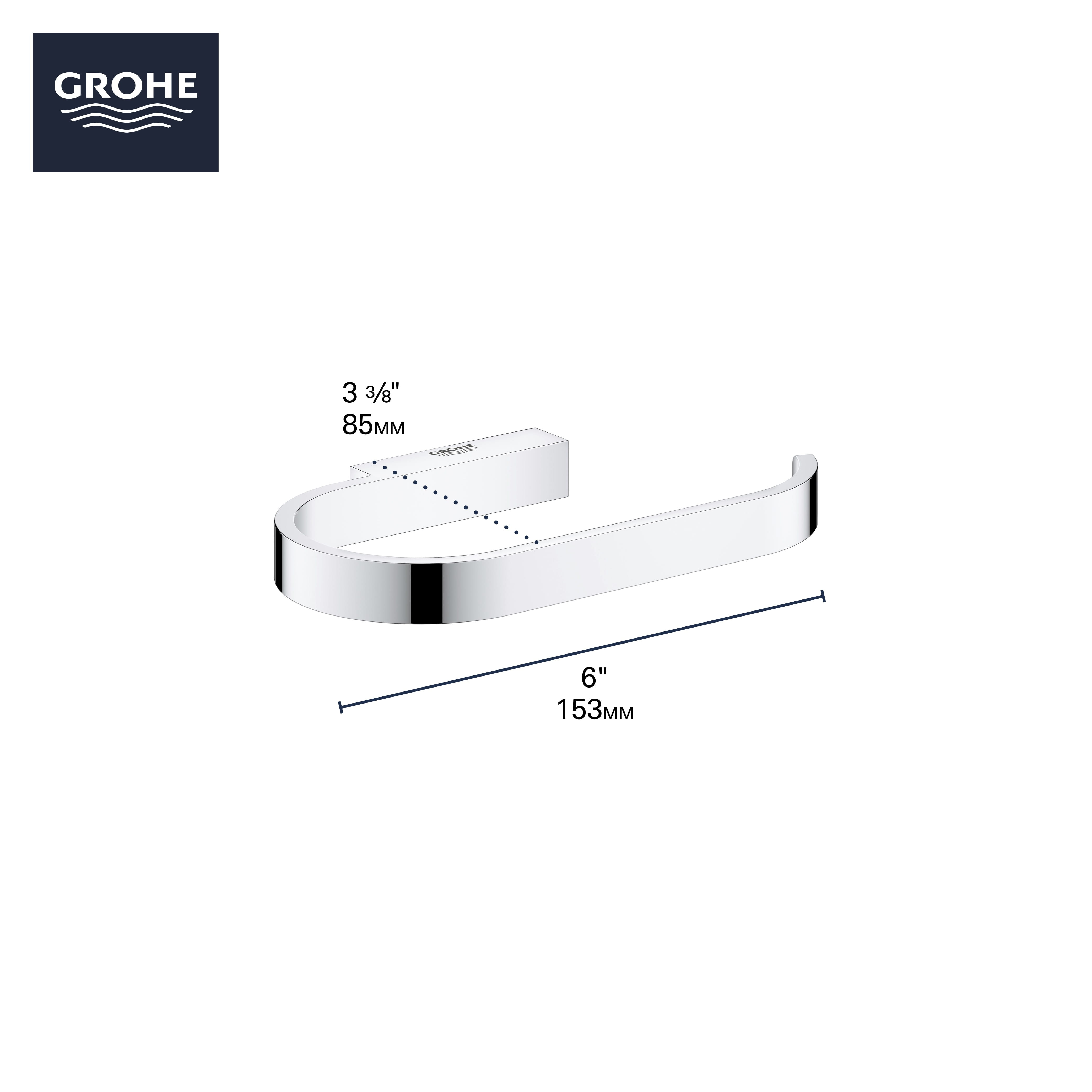 Paper Holder w o Cover GROHE BRUSHED COOL SUNRISE