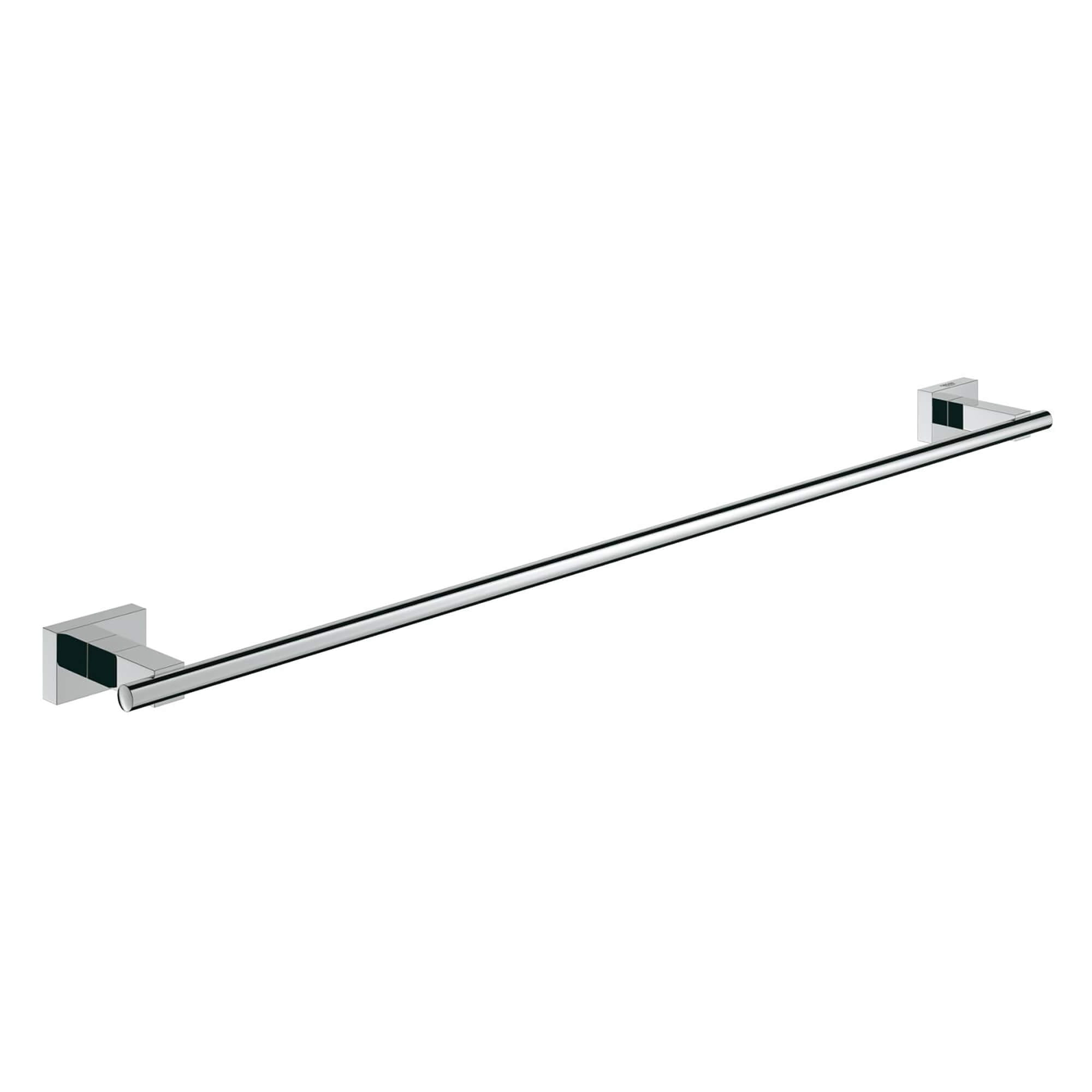 Essentials Cube Bath Towel Bar 600 Mm GROHE CHROME