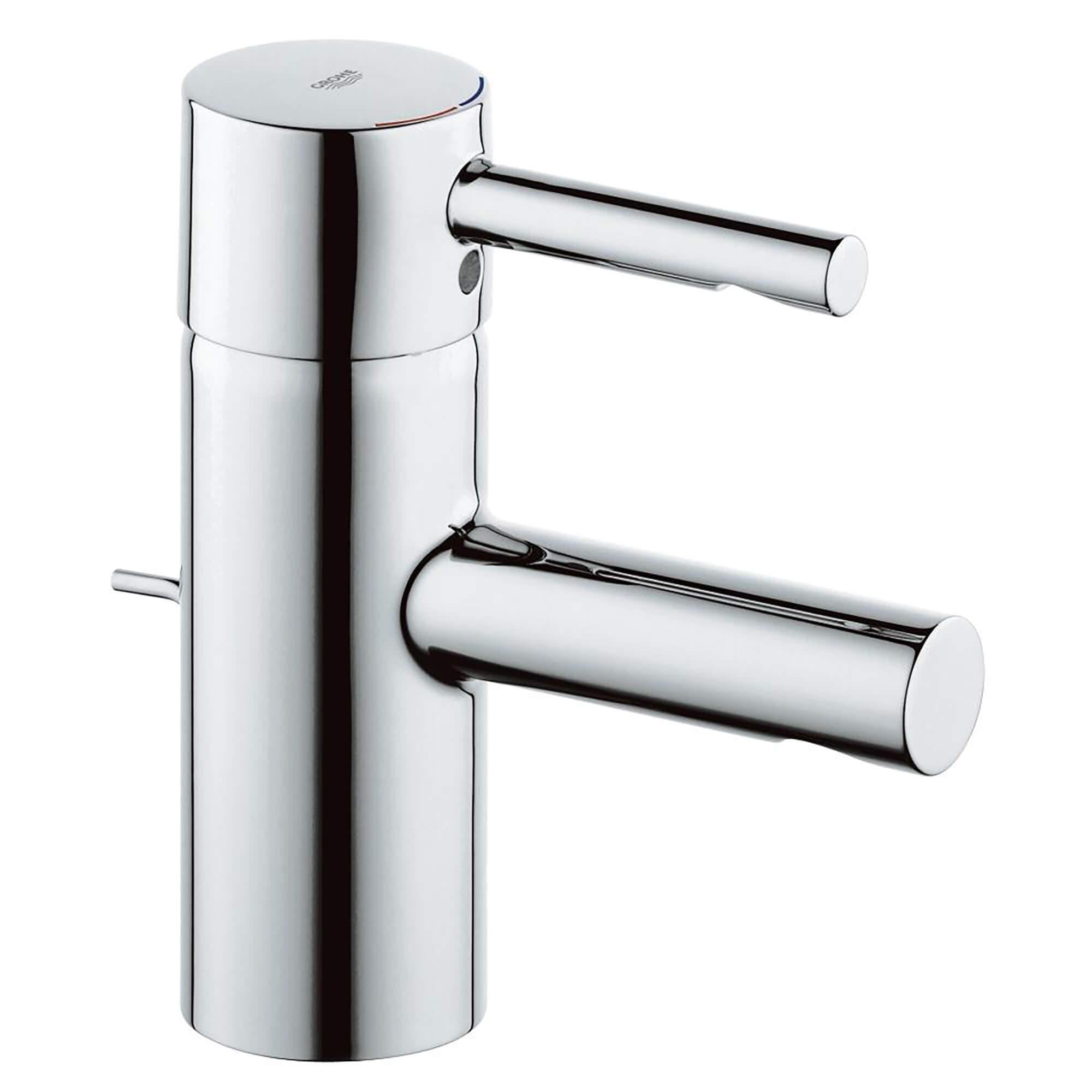 Single Hole Single Handle S Size Bathroom Faucet 1 2 Gpm Less Drain