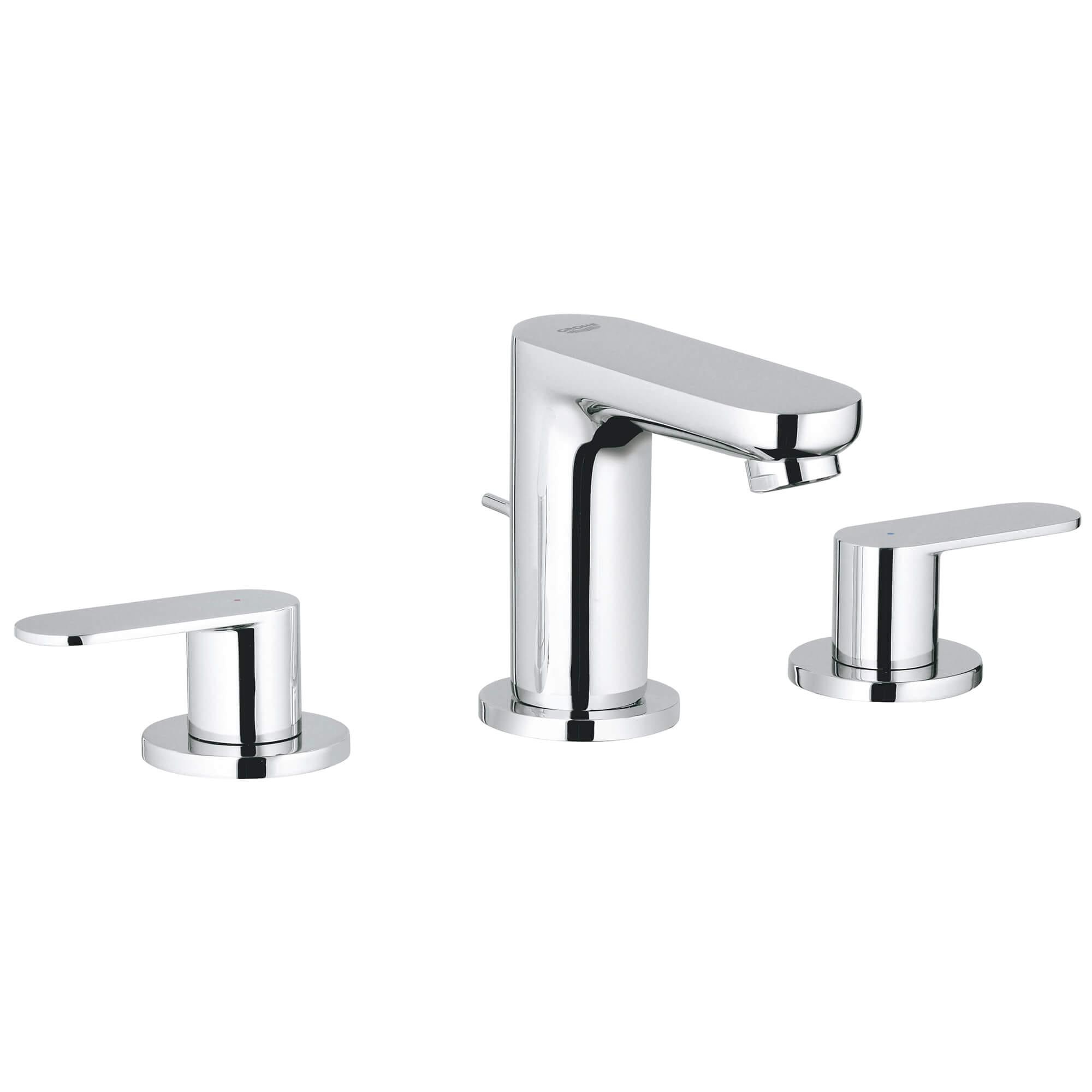 Cosmopolitan 8 In Widespread 2 Handle Bathroom Faucet 1 5 Gpm