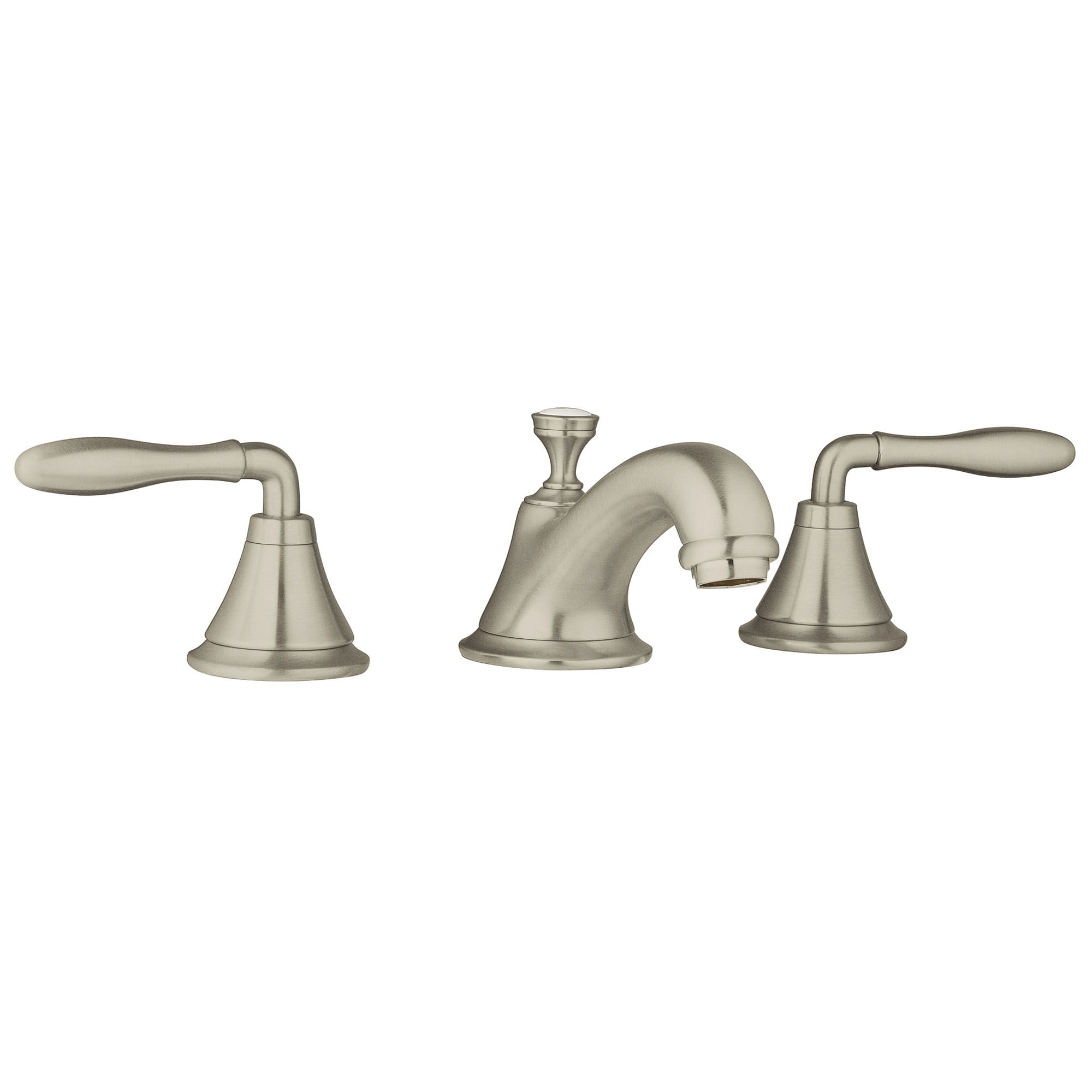 Lavatory Wideset 12 gpm GROHE BRUSHED NICKEL