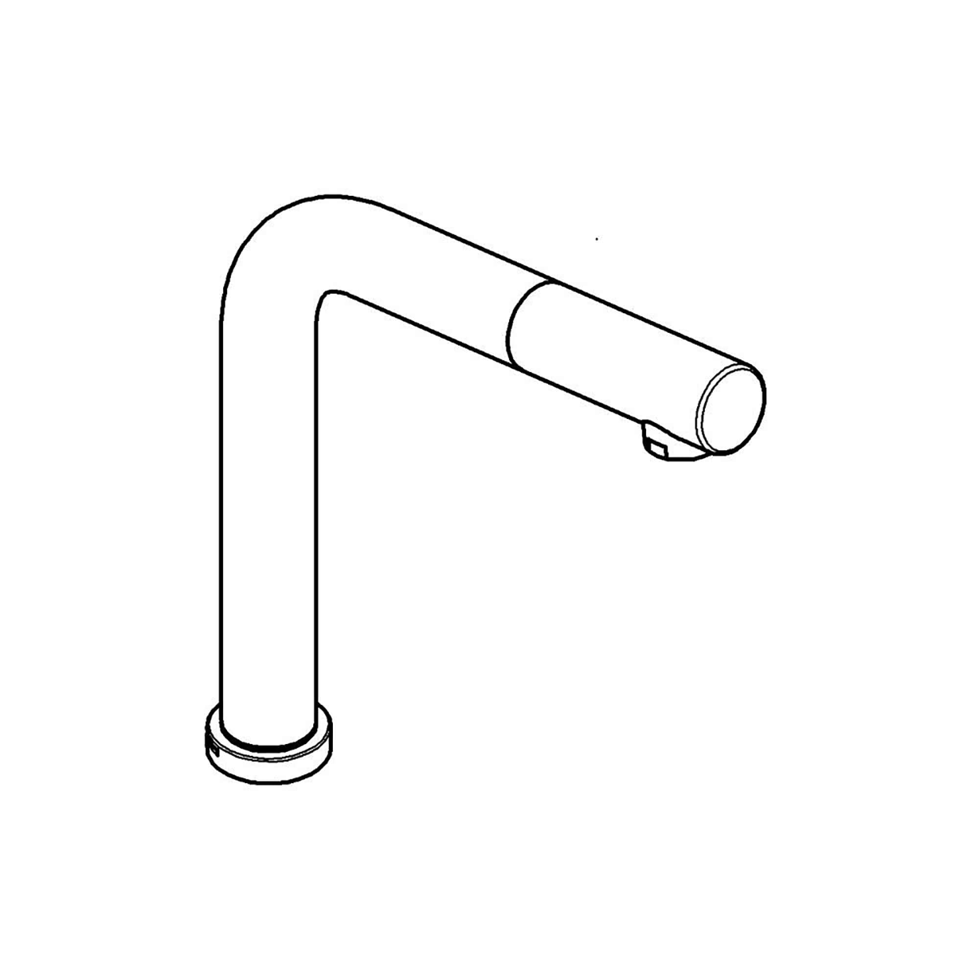 Spout GROHE CHROME
