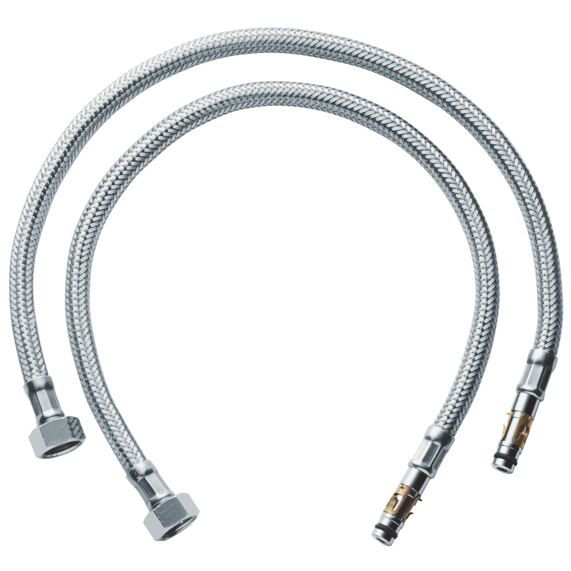 Flexible Connection Hose 18 1 2 Inch GROHE CHROME
