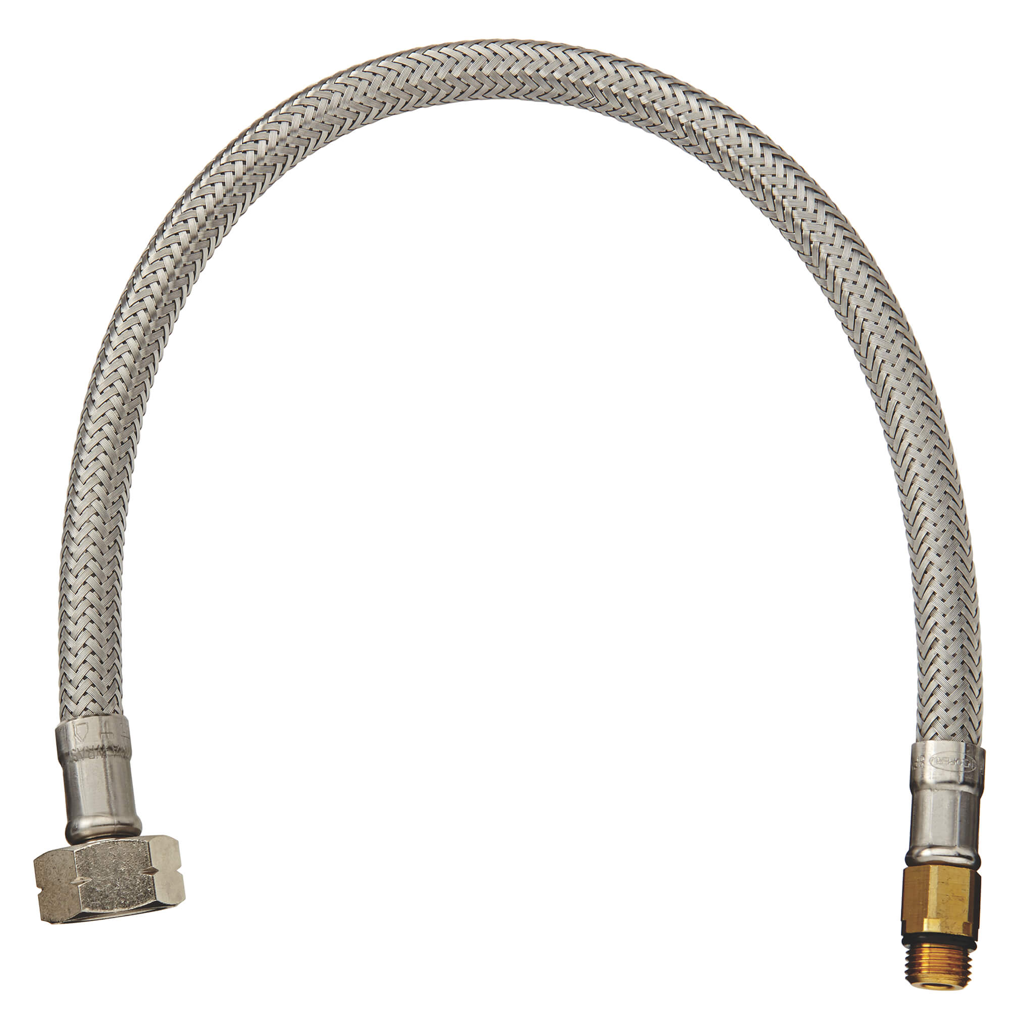 Flexible Connector 3 8 Inch X 5 8 Inch X 13 3 4 Inch GROHE CHROME