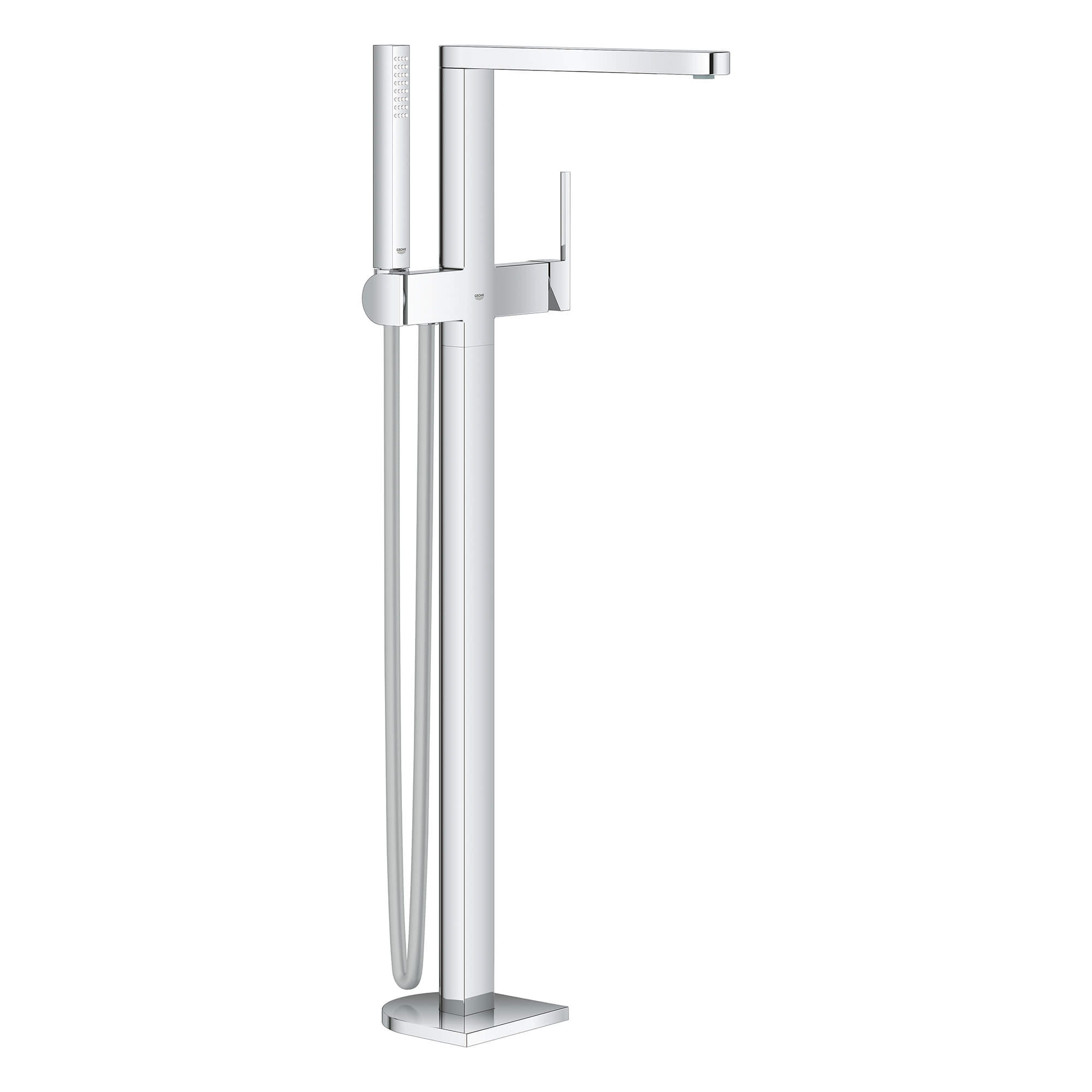 Picture of: Single Handle Freestanding Tub Faucet With 1 75 Gpm Hand Shower