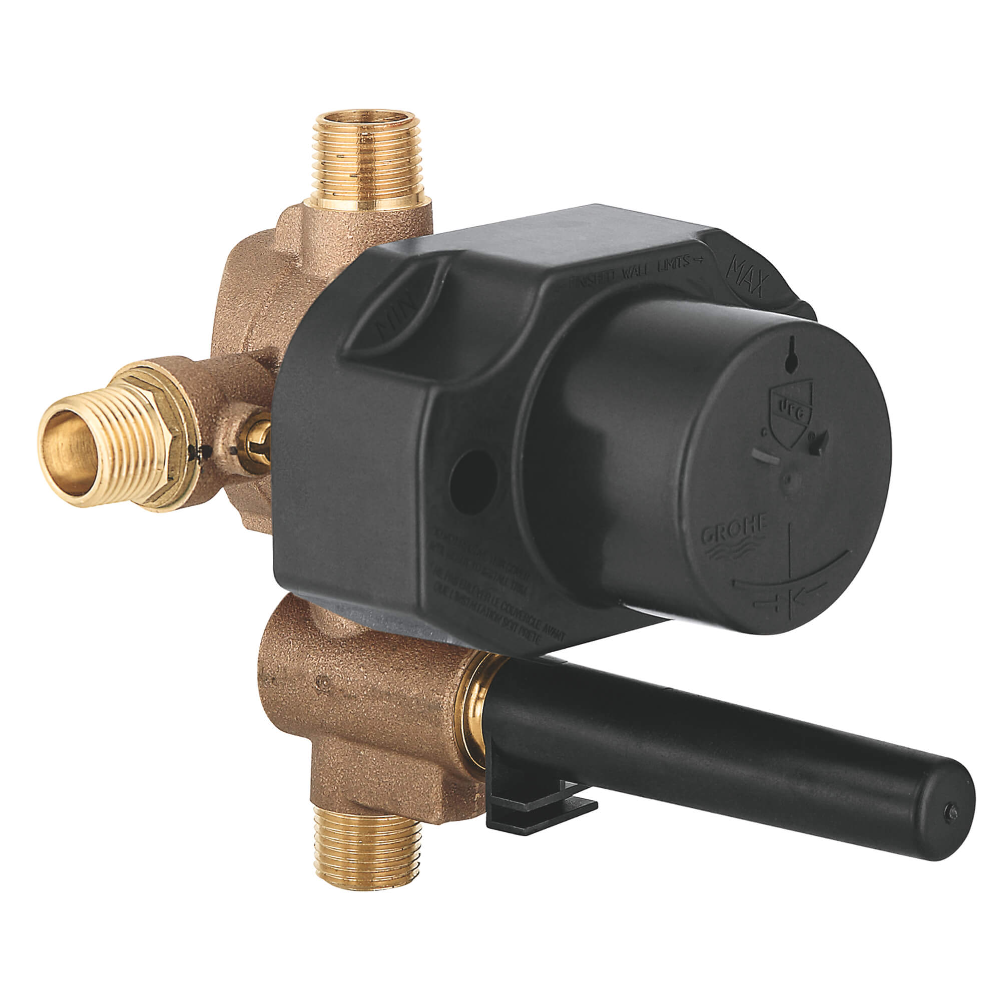 Pressure Balance Rough In Valve With Built In Diverter