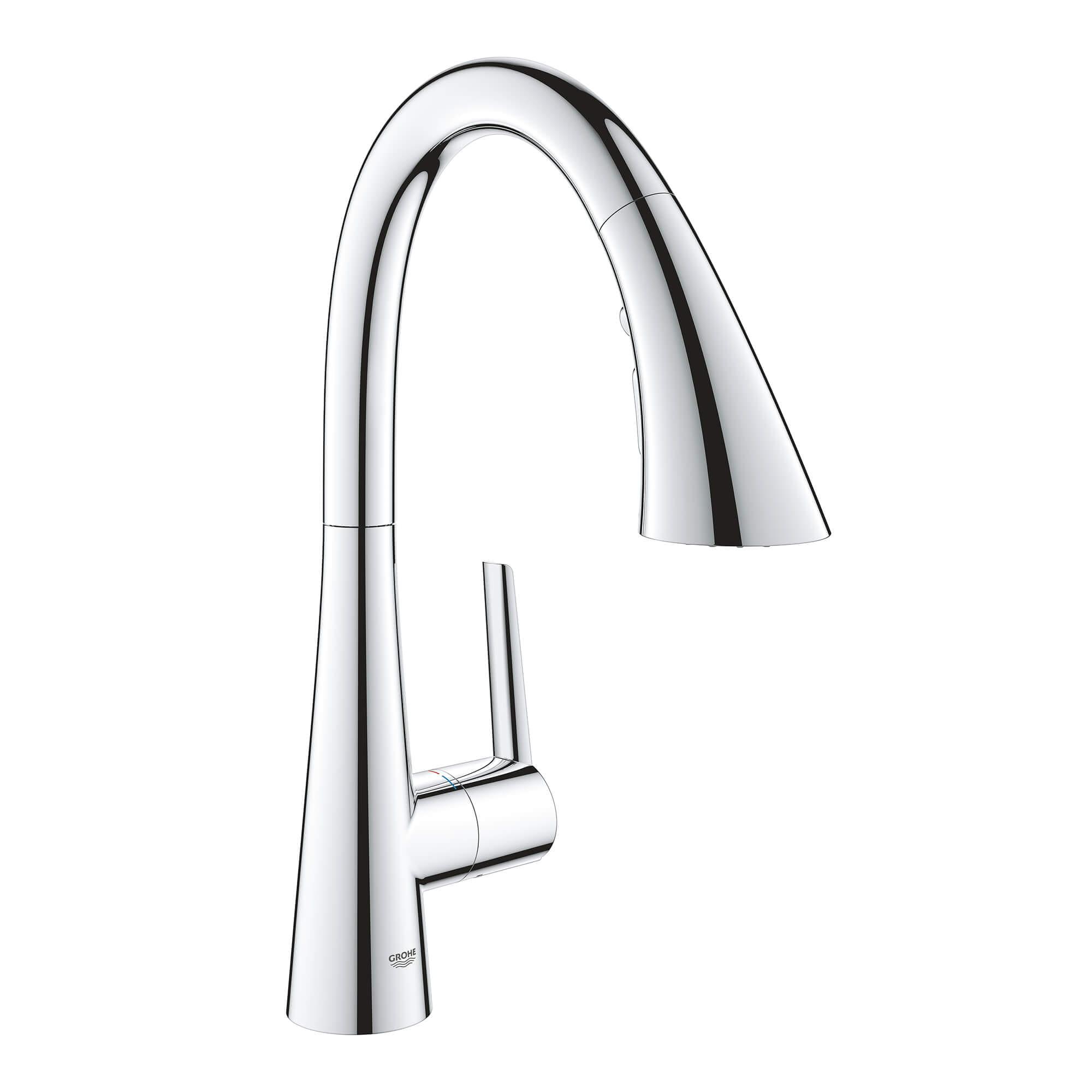 Single Handle Pull Down Triple Spray Bar Faucet 1 75 Gpm