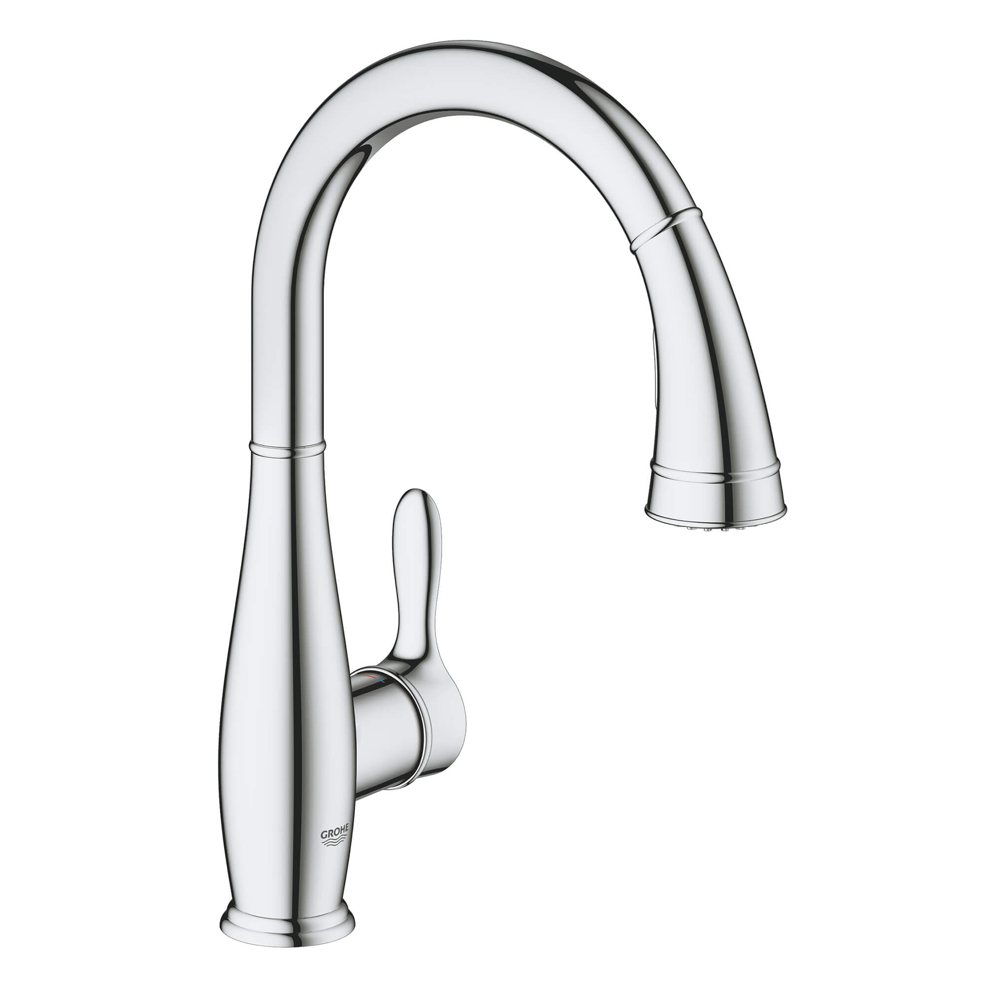 Single Handle Pull Down Kitchen Faucet Dual Spray 1 75 Gpm