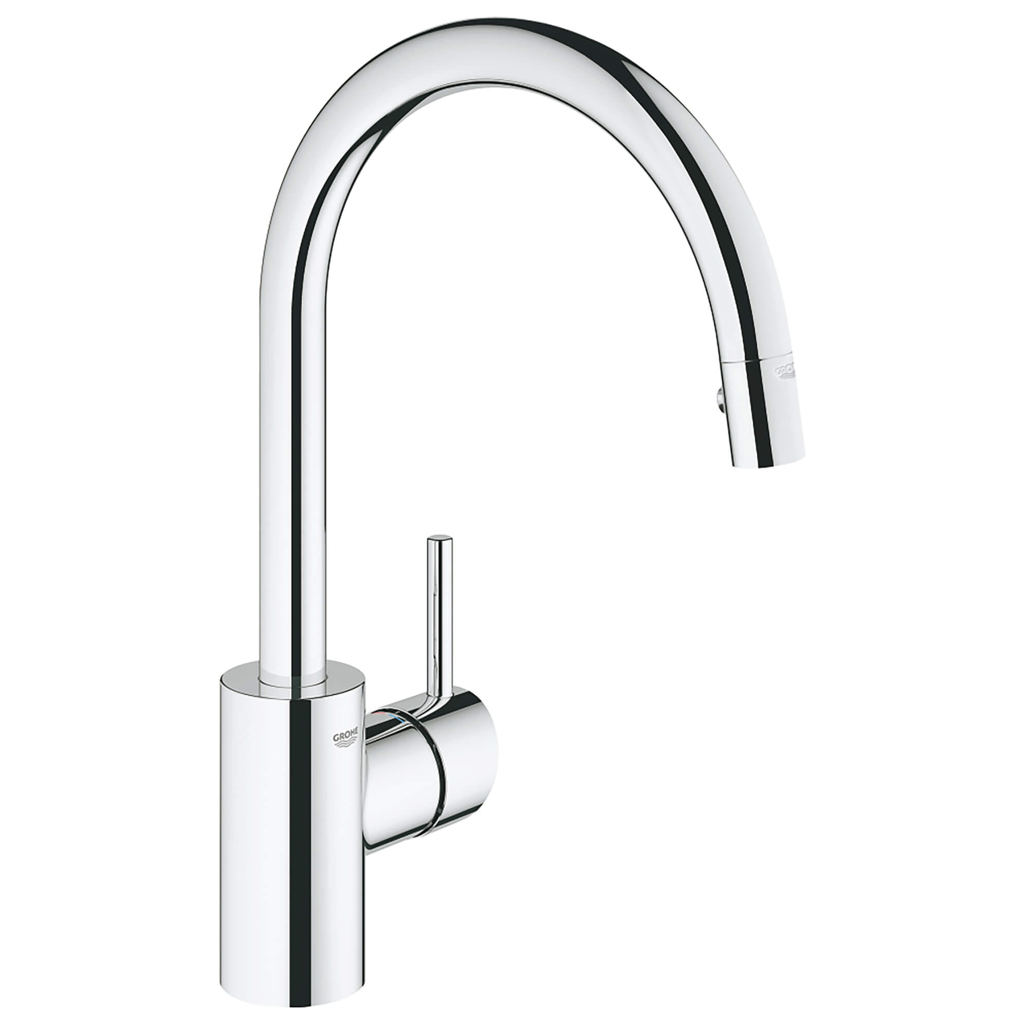 Single Handle Pull Down Kitchen Faucet Dual Spray 1 5 Gpm