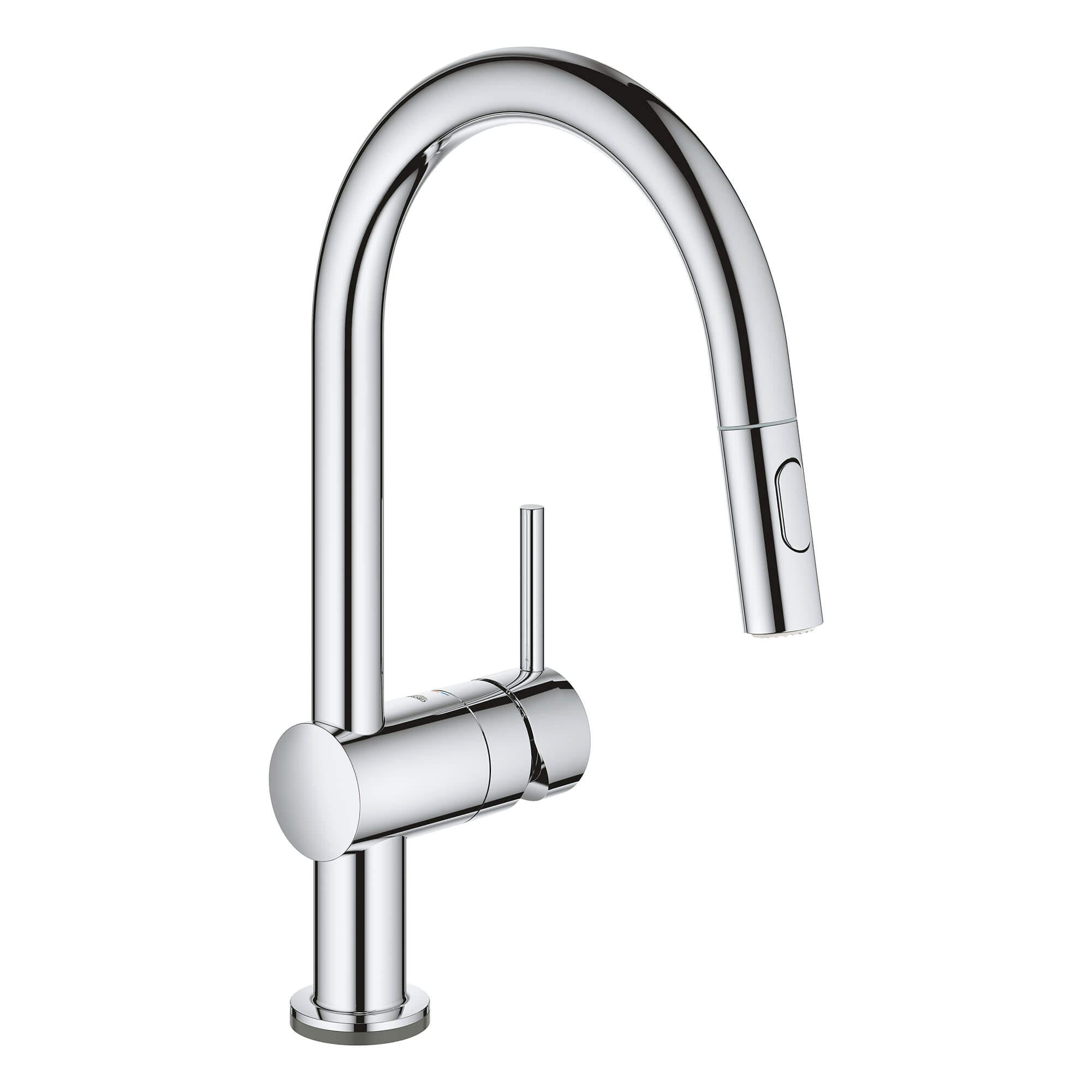 Single Handle Pull Down Kitchen Faucet Dual Spray 1 75 Gpm With Touch Technology