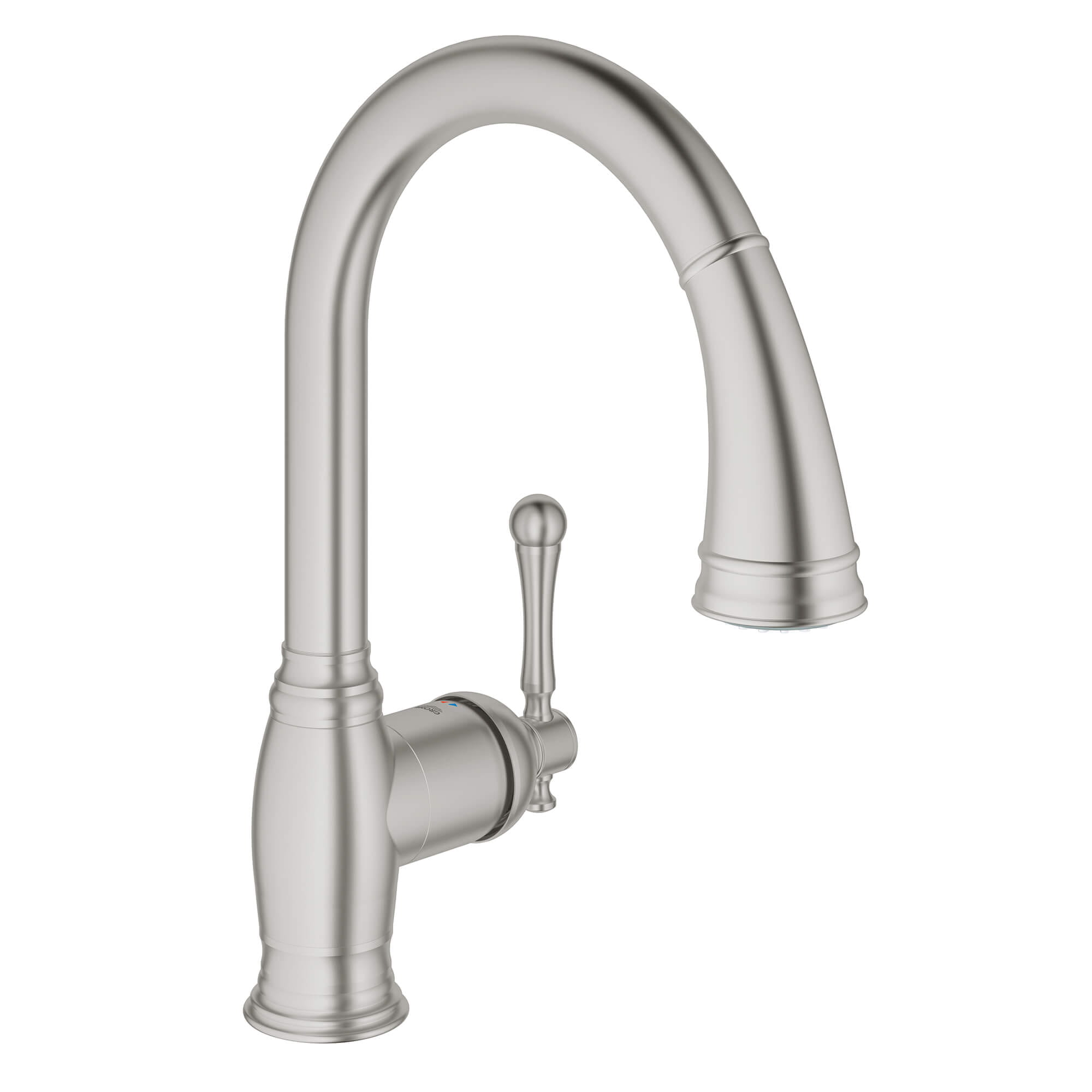 Bridgeford Single Handle Pull Down Kitchen Faucet Dual Spray 1 75 Gpm