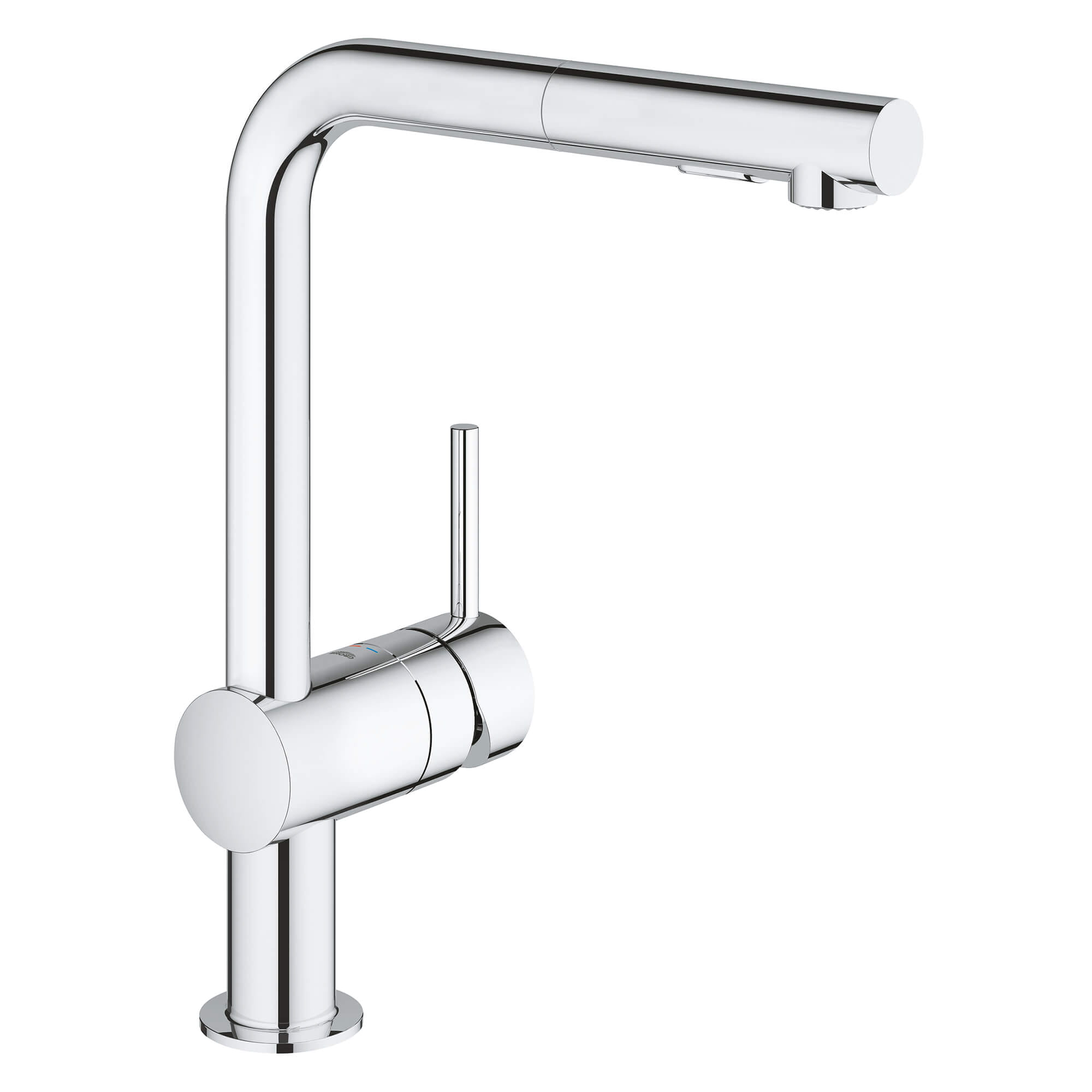 Single Handle Pull Out Kitchen Faucet Dual Spray 1 75 Gpm
