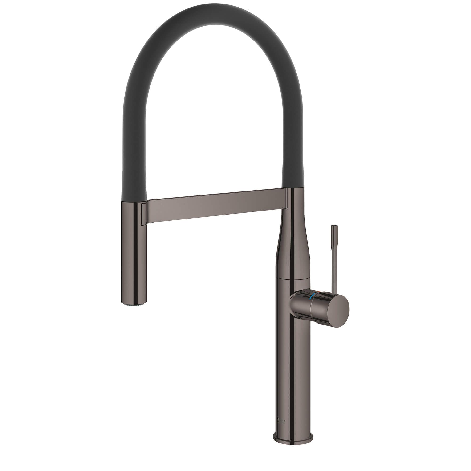 Single Handle Semi Pro Dual Spray Kitchen Faucet 1 75 Gpm