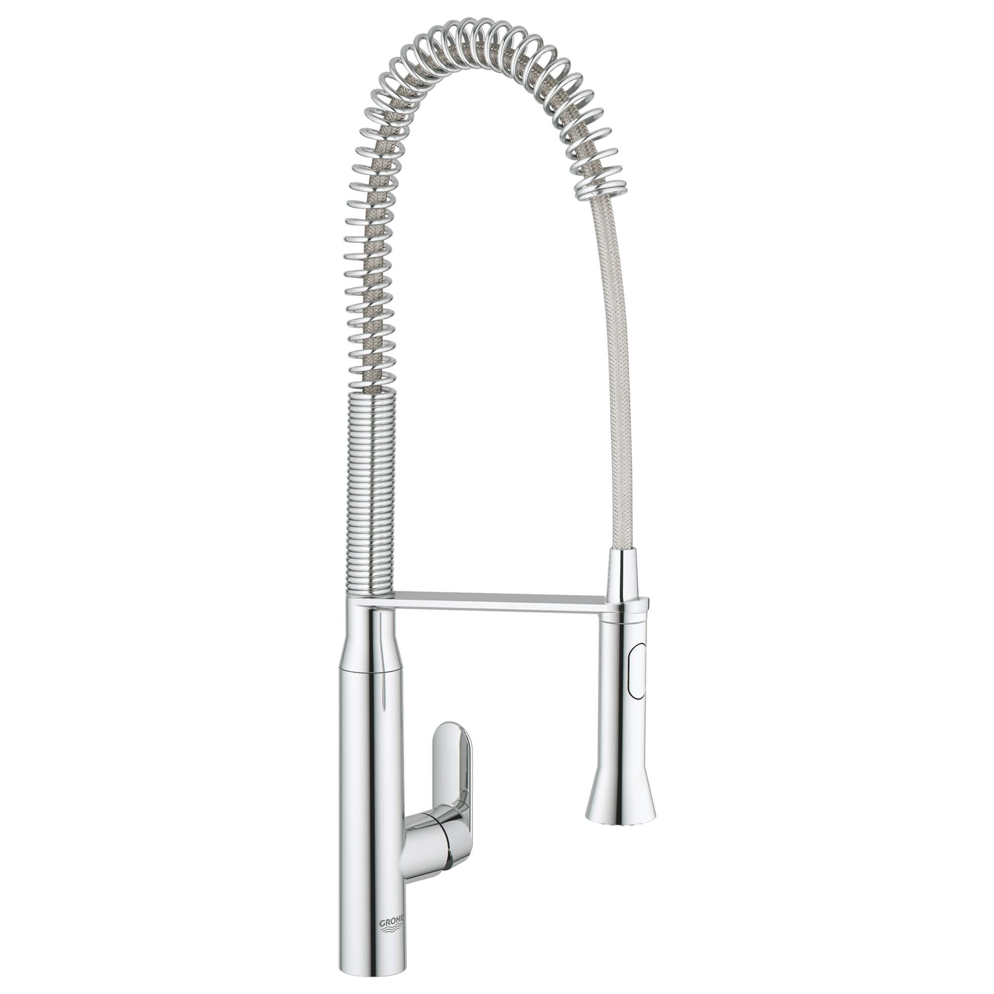 K7 Single Handle Semi Pro Dual Spray Kitchen Faucet 1 75 Gpm