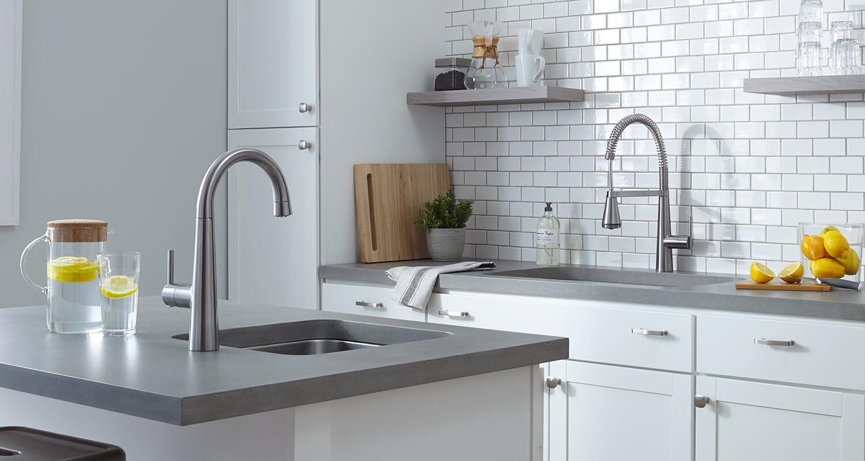 Edgewater kitchen faucet environment