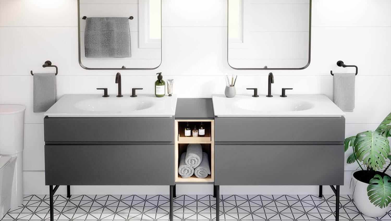 studio suite bathroom vanity