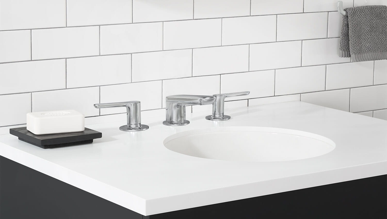 studio s bathroom faucet polished chrome white sink