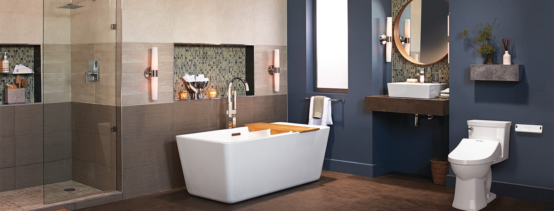 bathroom with SpaLet Bidet