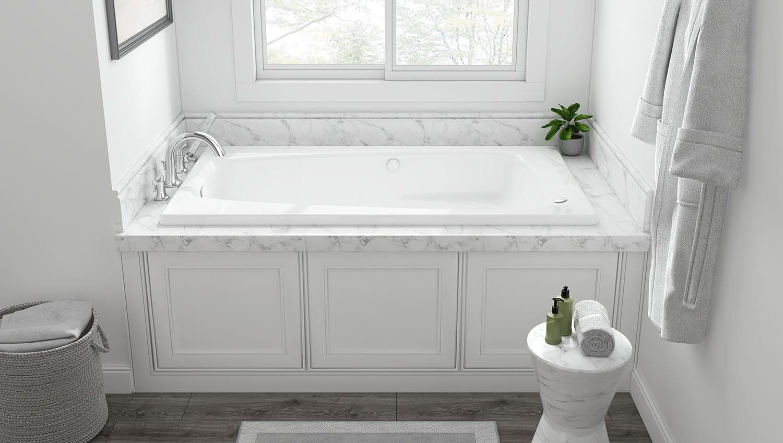 everclean whirlpool bath tub