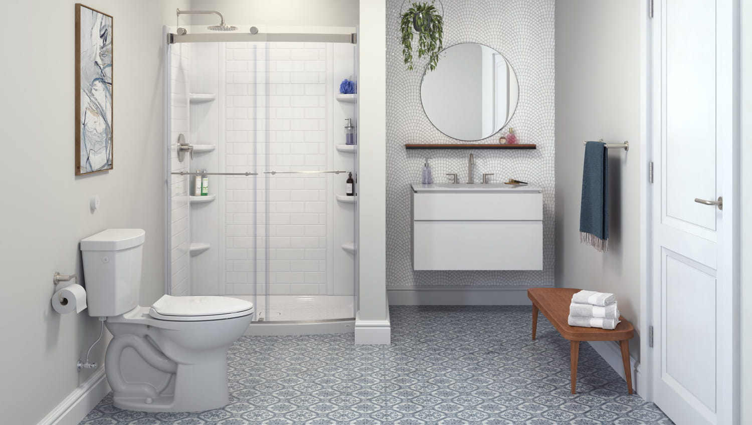 Elevate Bathroom Collection by American Standard