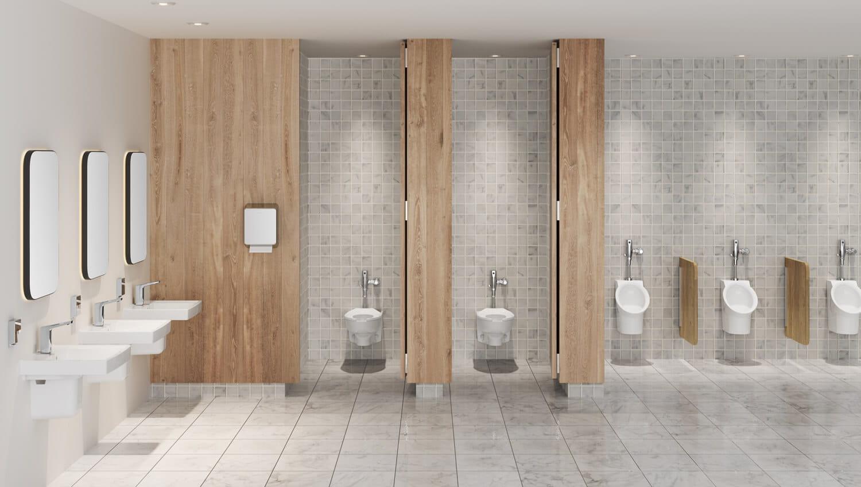Decorum Commercial Bathroom - 9134001EC020 | 7025305002 | 6042633020 | 3351101020 | 6063051002 | 0059020EC020