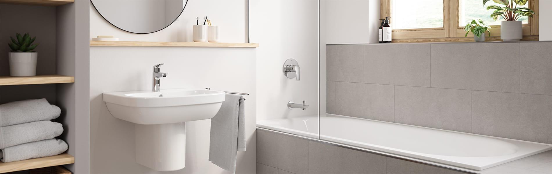 Eurosmart bathroom faucet suite
