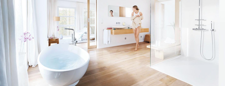 Create a luxury walk-in Shower