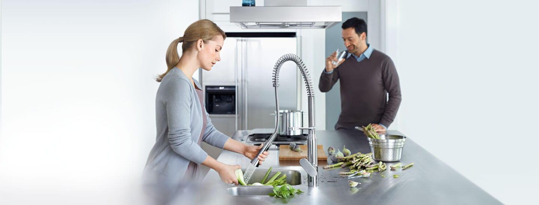 Collection de robinets de cuisine GROHE K7