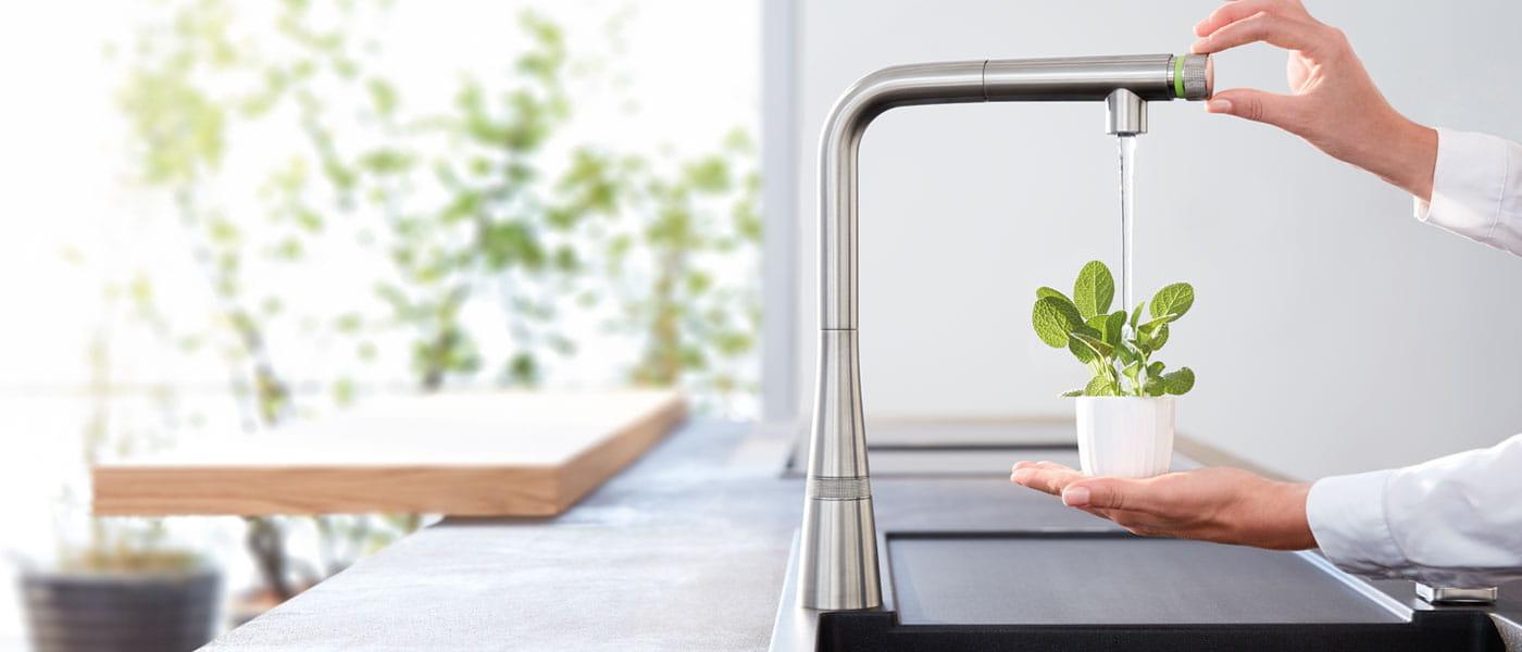 Ladylux SmartControl Kitchen Faucet